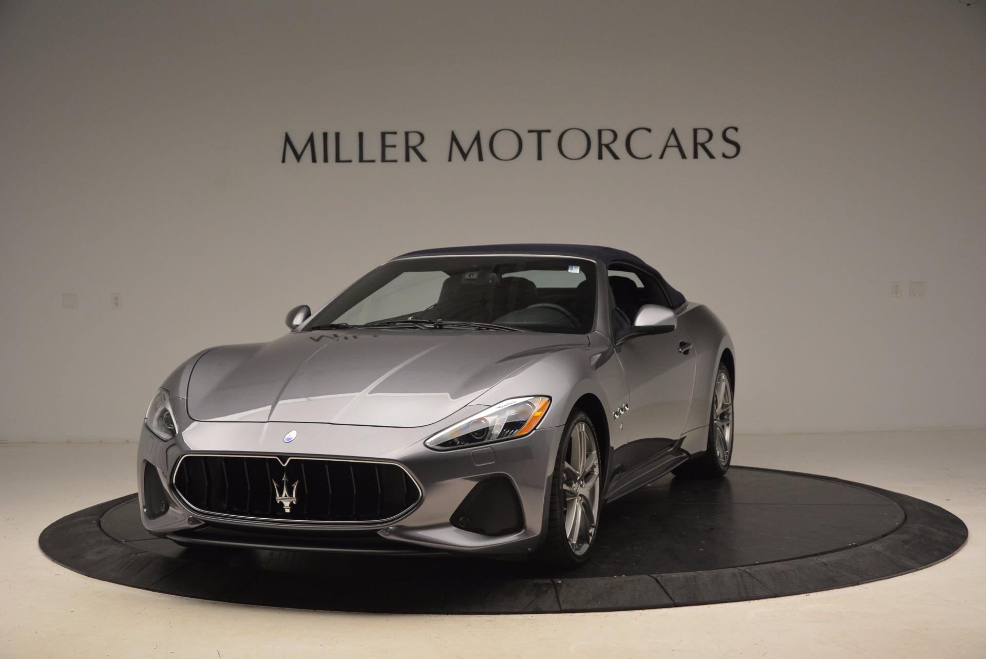 New 2018 Maserati GranTurismo Sport Convertible For Sale In Greenwich, CT 1703_p2