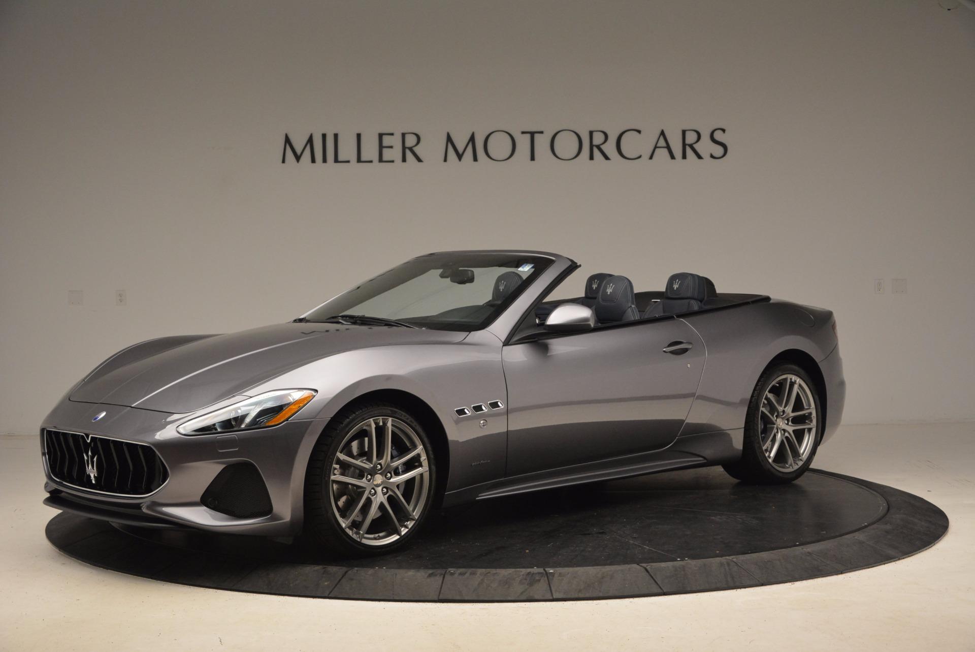 New 2018 Maserati GranTurismo Sport Convertible For Sale In Greenwich, CT 1703_p3