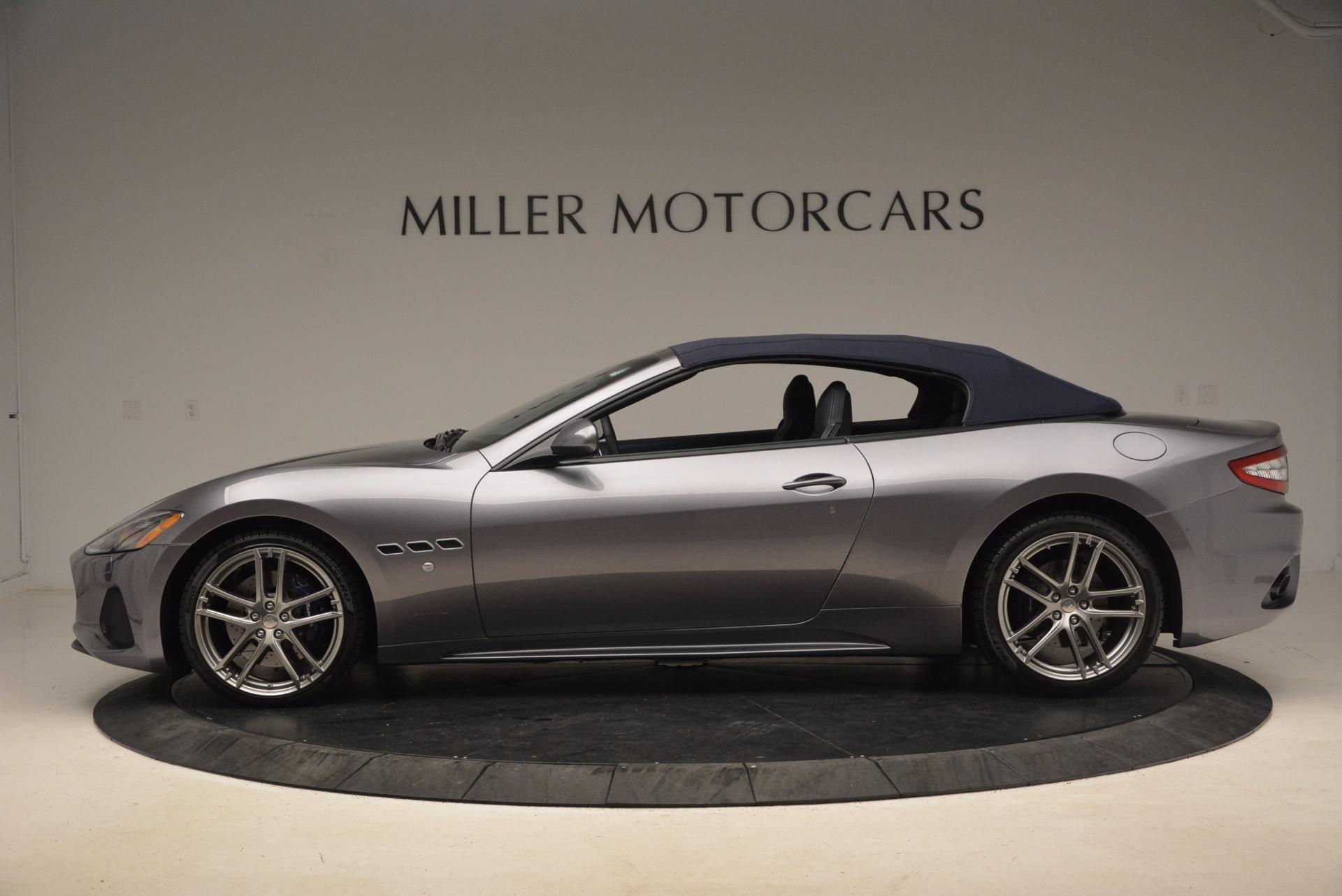 New 2018 Maserati GranTurismo Sport Convertible For Sale In Greenwich, CT 1703_p6