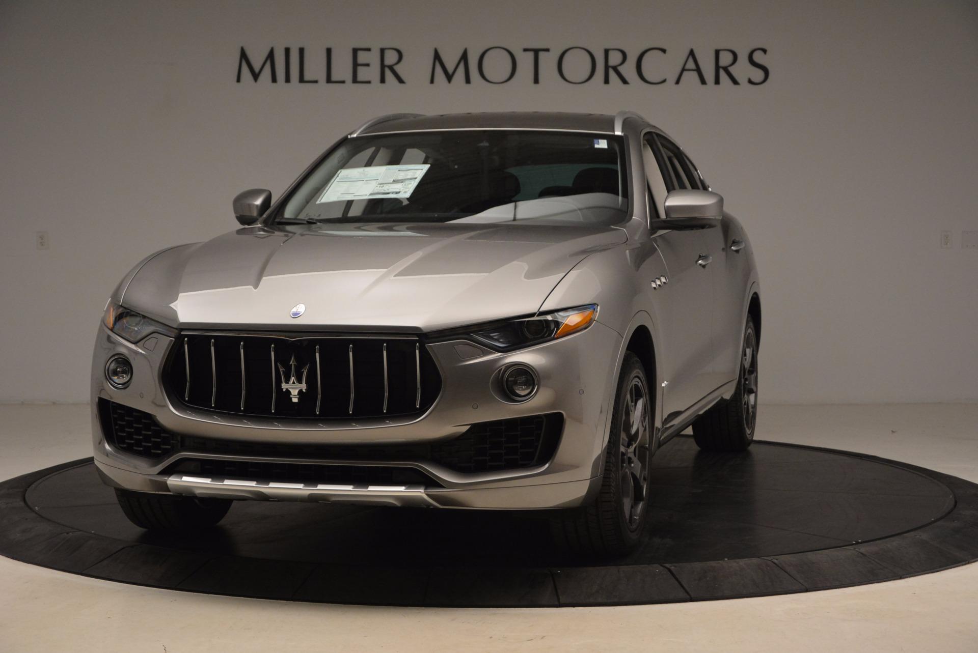 New 2018 Maserati Levante Q4 GranLusso For Sale In Greenwich, CT 1709_main