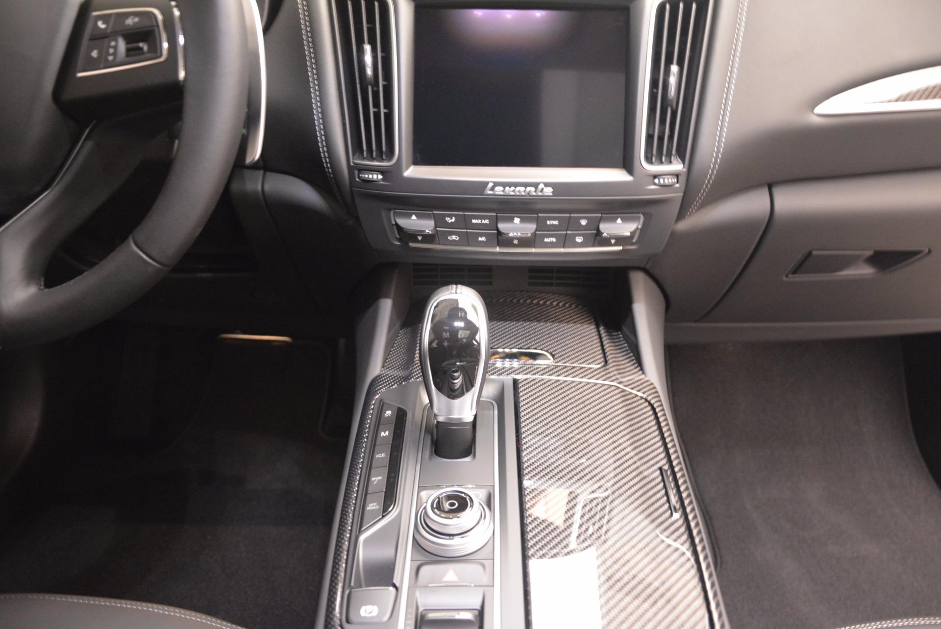 New 2018 Maserati Levante Q4 GranLusso For Sale In Greenwich, CT 1709_p16