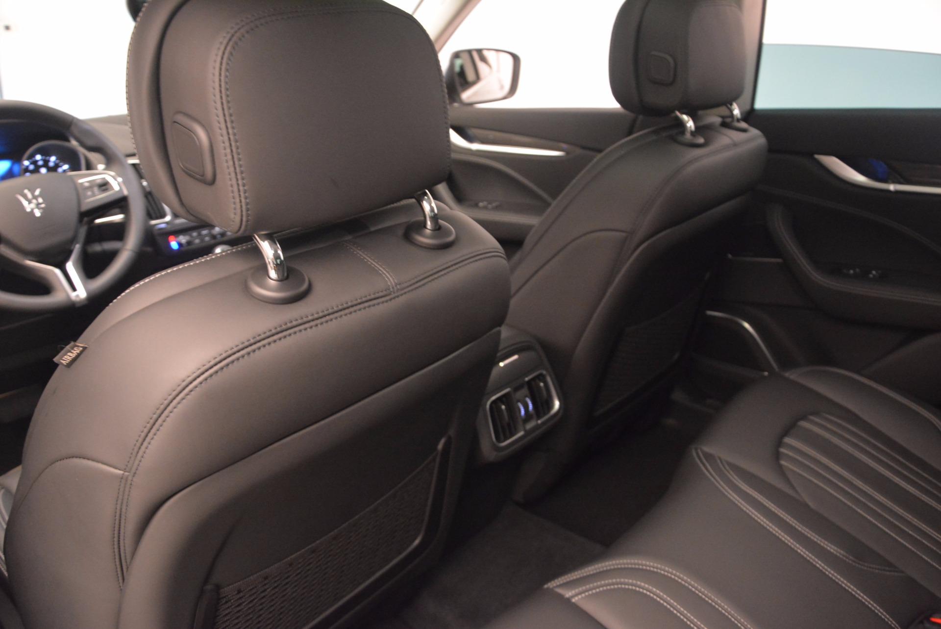 New 2018 Maserati Levante Q4 GranLusso For Sale In Greenwich, CT 1709_p17