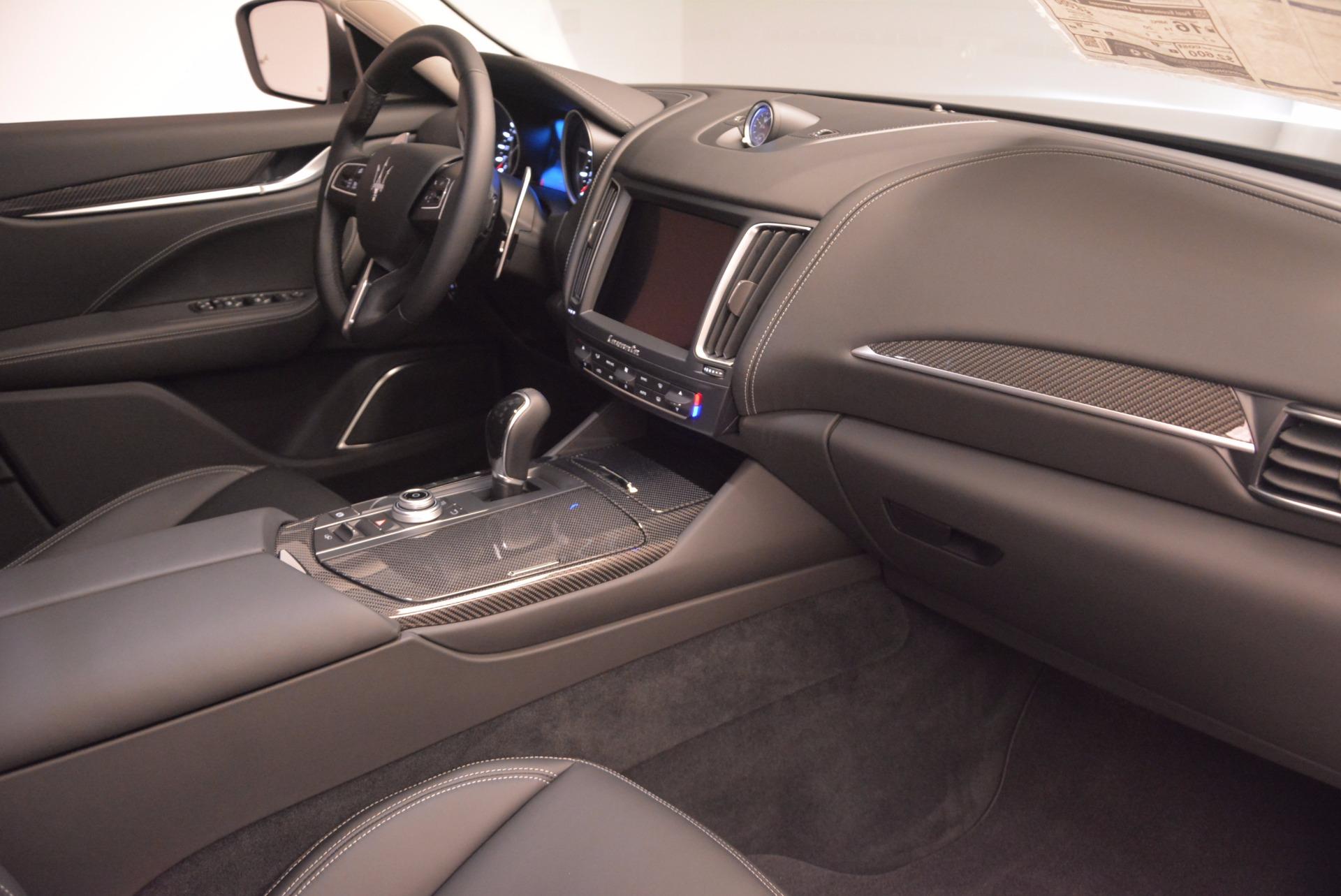 New 2018 Maserati Levante Q4 GranLusso For Sale In Greenwich, CT 1709_p18