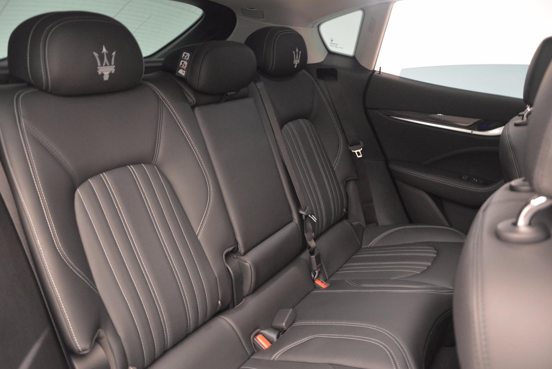New 2018 Maserati Levante Q4 GranLusso For Sale In Greenwich, CT 1709_p25