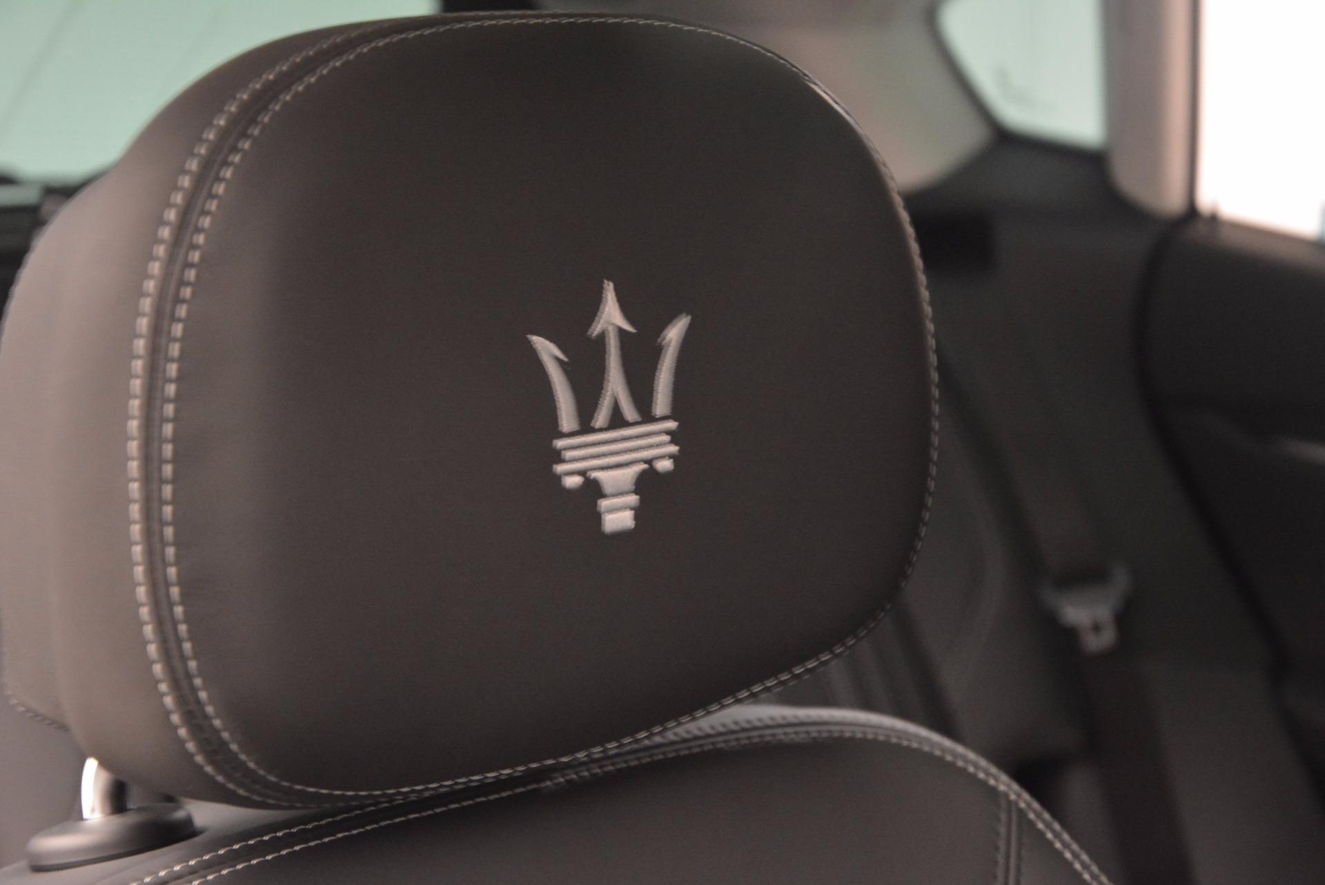 New 2018 Maserati Levante Q4 GranLusso For Sale In Greenwich, CT 1709_p26