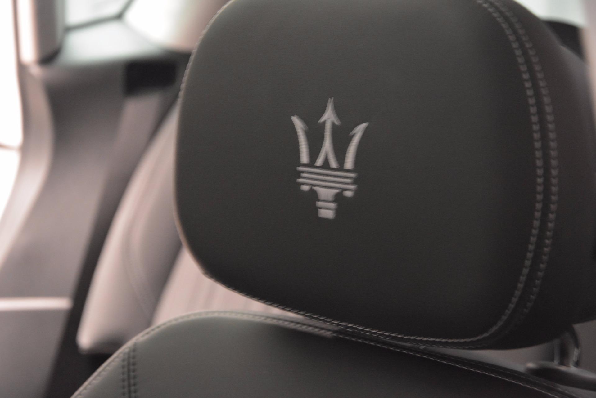New 2018 Maserati Levante Q4 GranLusso For Sale In Greenwich, CT 1709_p27