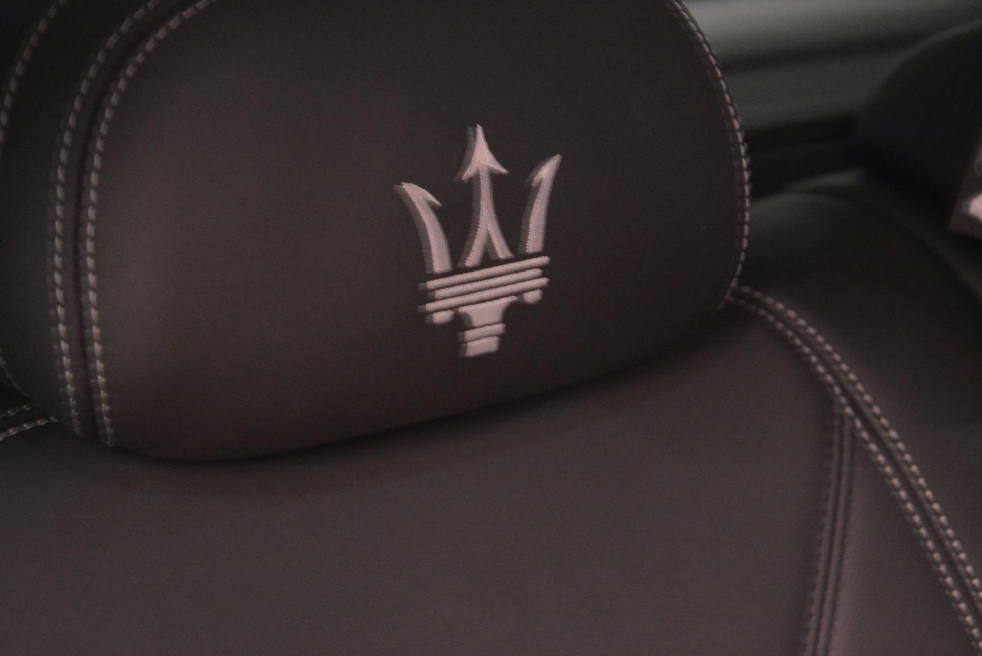 New 2018 Maserati Levante Q4 GranLusso For Sale In Greenwich, CT 1709_p29