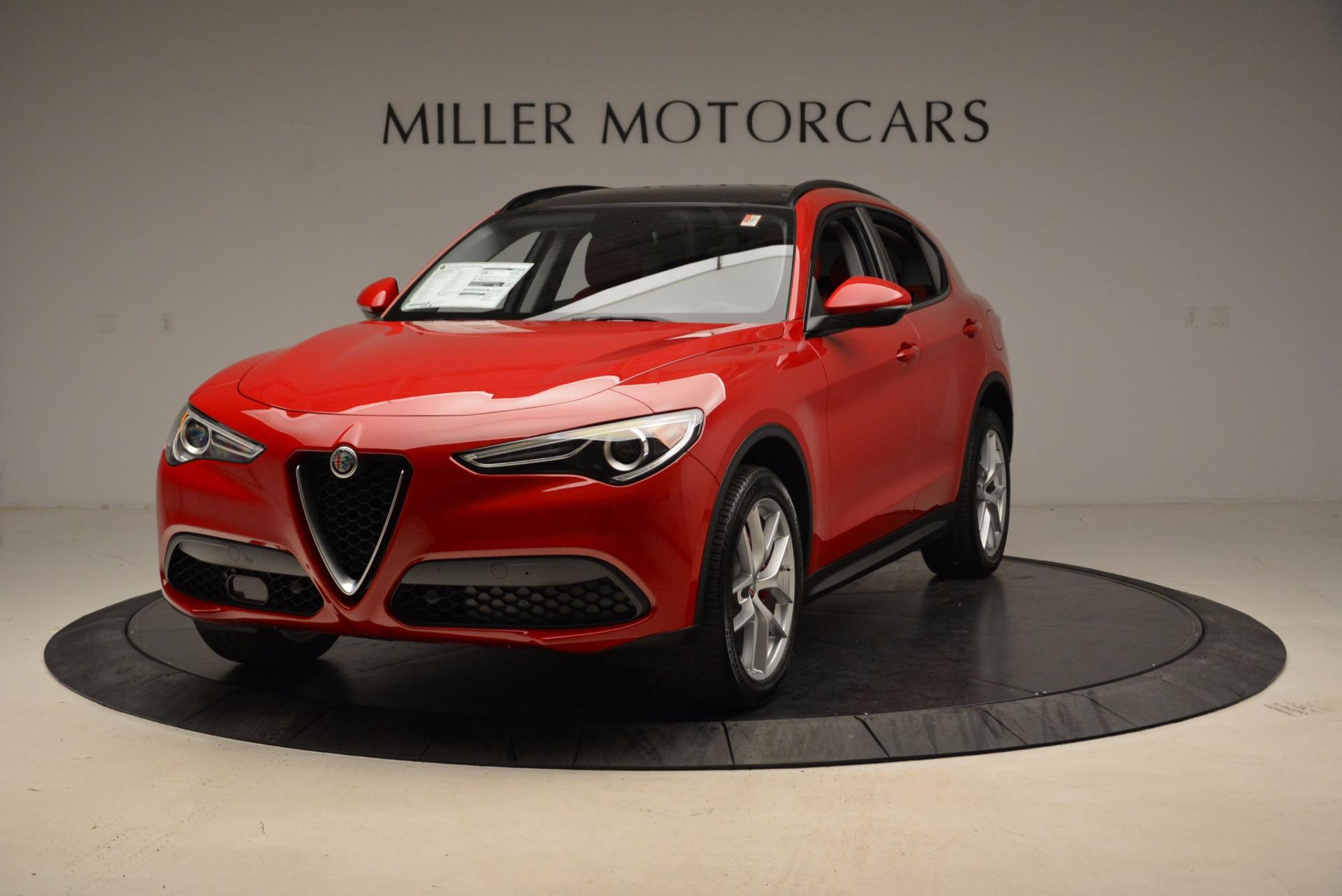 New 2018 Alfa Romeo Stelvio Sport Q4 For Sale In Greenwich, CT 1725_main