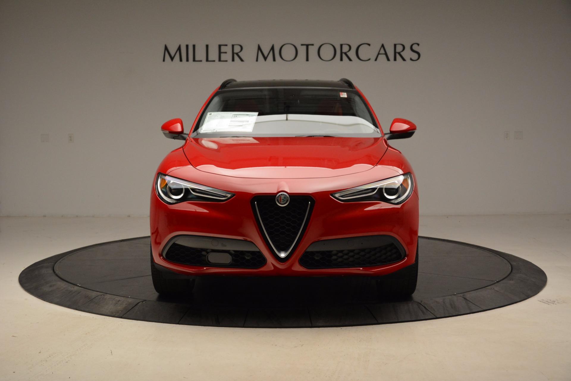 New 2018 Alfa Romeo Stelvio Sport Q4 For Sale In Greenwich, CT 1725_p12