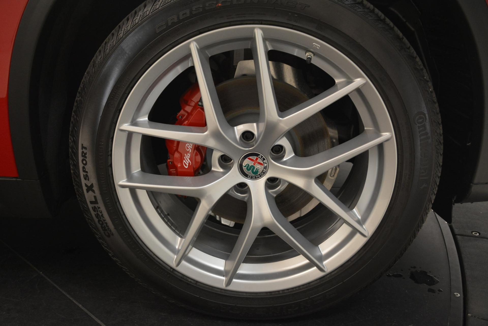 New 2018 Alfa Romeo Stelvio Q4 For Sale In Greenwich, CT 1726_p25