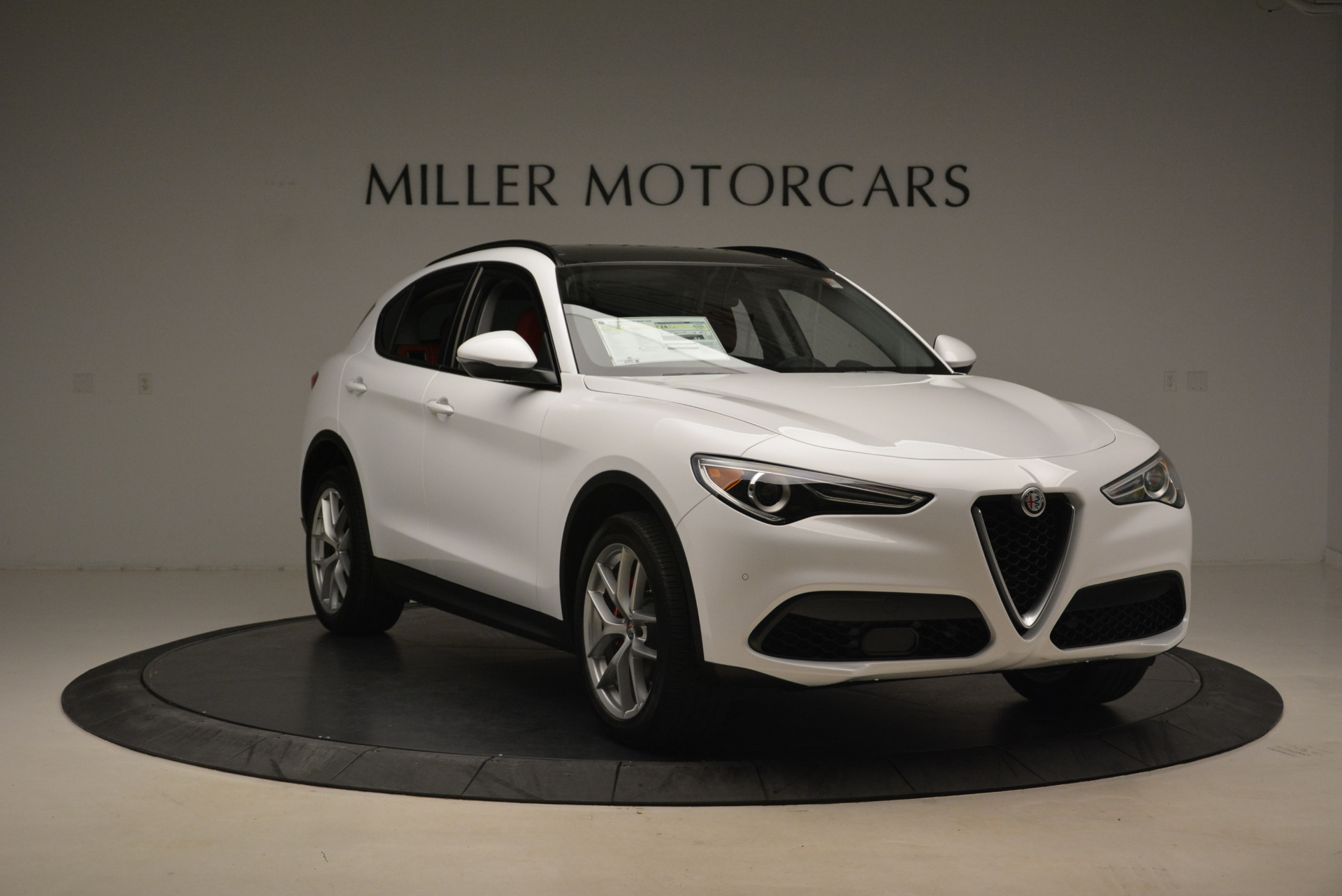 New 2018 Alfa Romeo Stelvio Sport Q4 For Sale In Greenwich, CT 1738_p11