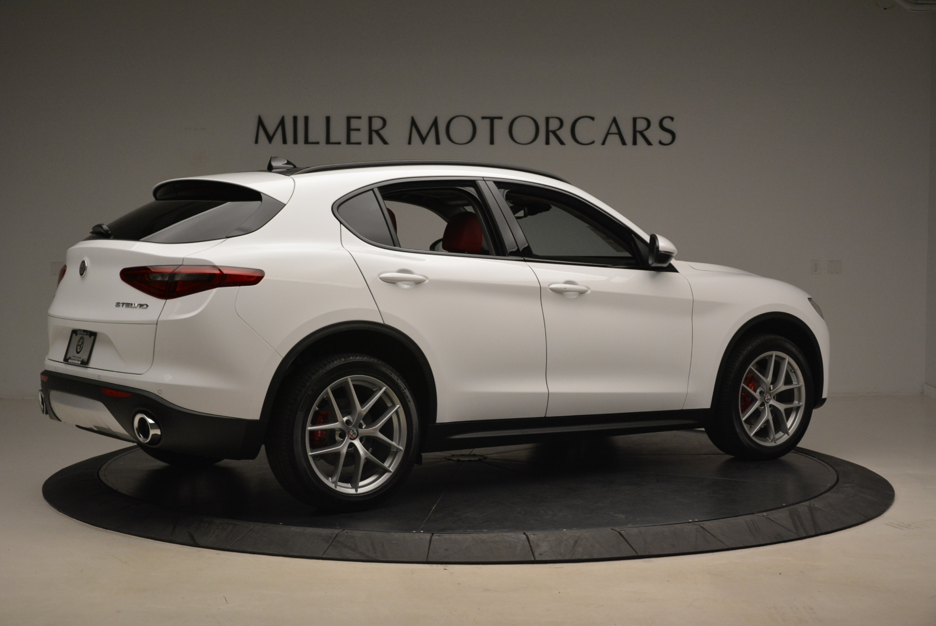 New 2018 Alfa Romeo Stelvio Sport Q4 For Sale In Greenwich, CT 1738_p8