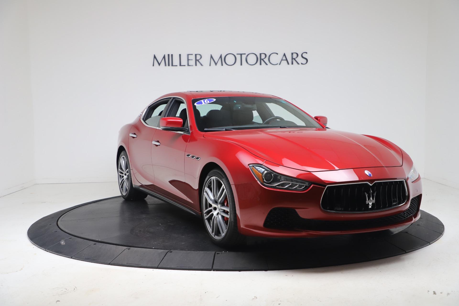 New 2016 Maserati Ghibli S Q4 For Sale In Greenwich, CT 174_p11