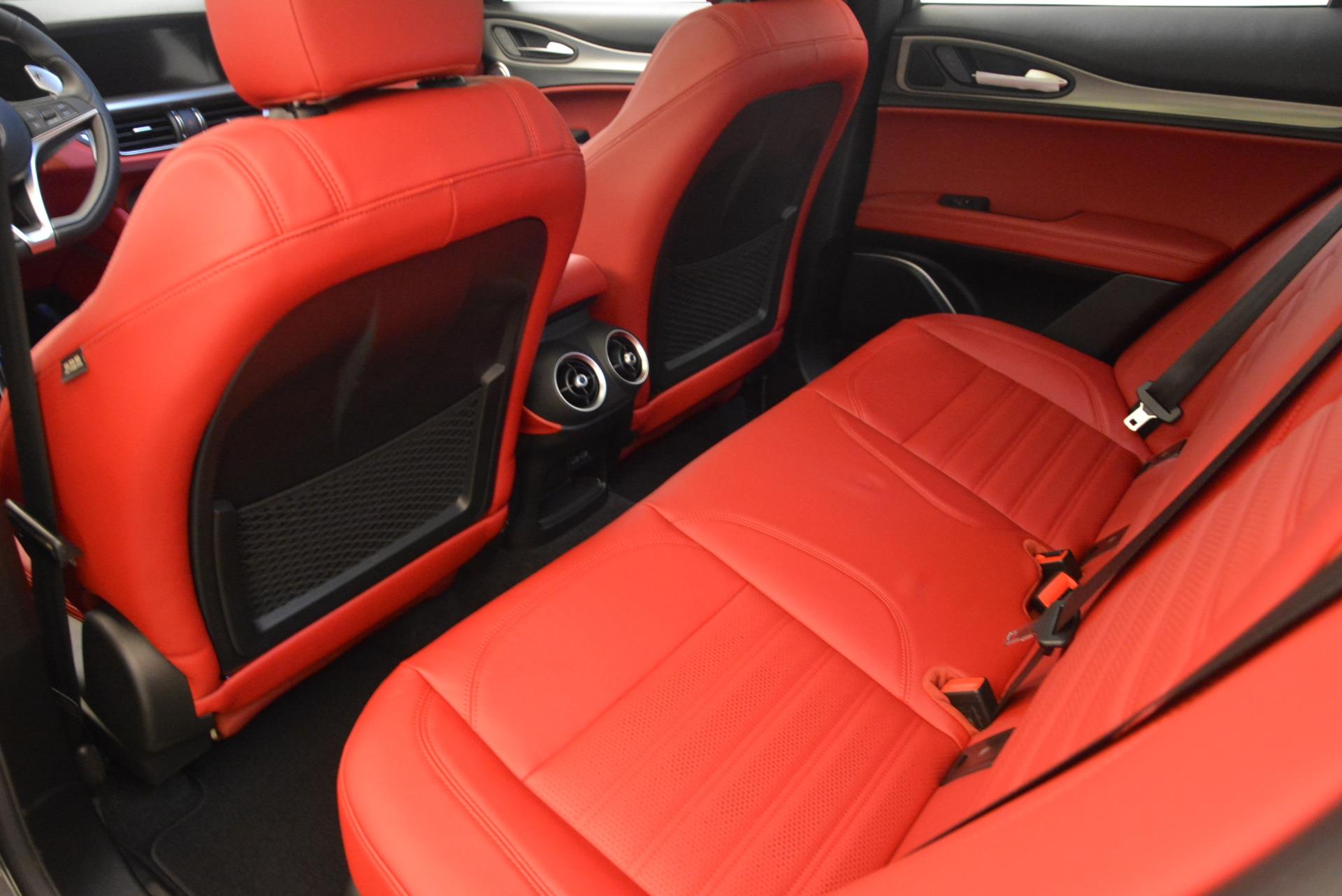 New 2018 Alfa Romeo Stelvio Ti Sport Q4 For Sale In Greenwich, CT 1740_p16