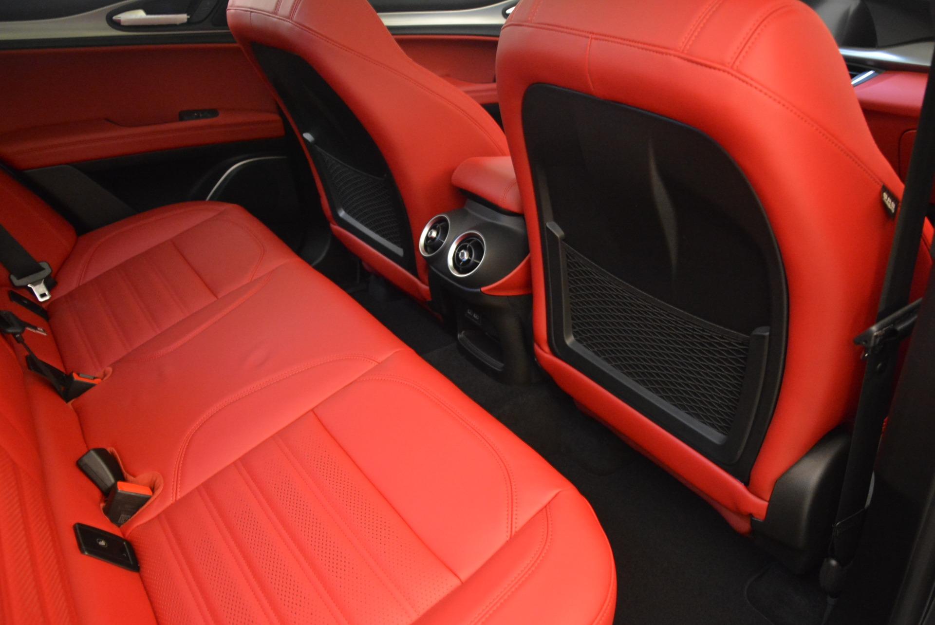 New 2018 Alfa Romeo Stelvio Ti Sport Q4 For Sale In Greenwich, CT 1740_p22
