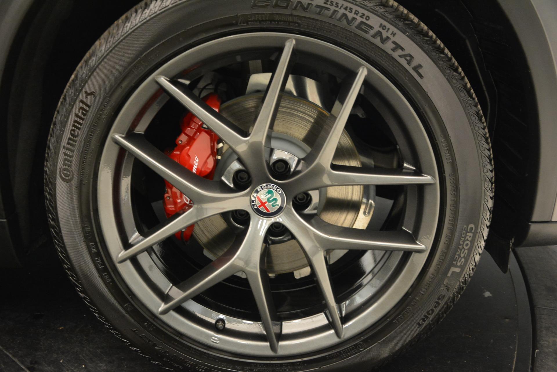 New 2018 Alfa Romeo Stelvio Ti Sport Q4 For Sale In Greenwich, CT 1740_p25