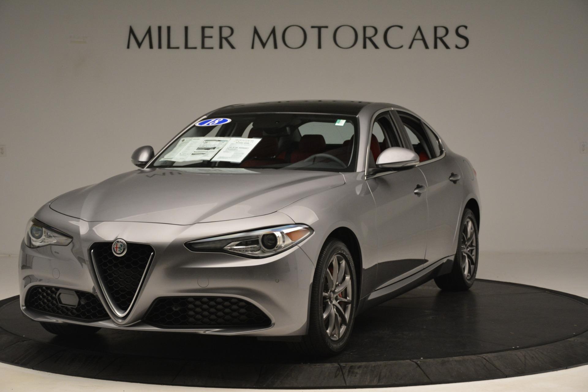 New 2018 Alfa Romeo Giulia Q4 For Sale In Greenwich, CT 1751_main