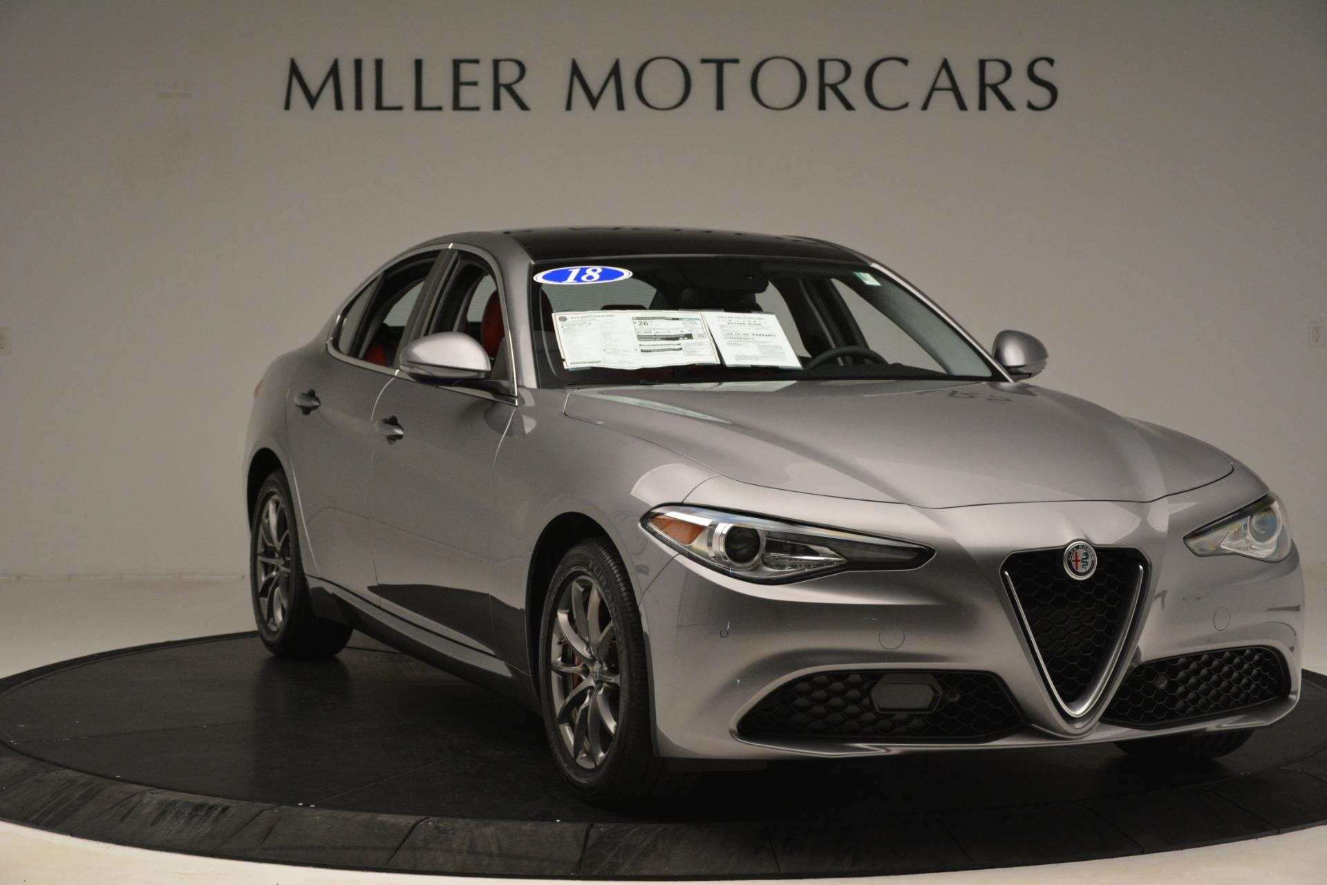 New 2018 Alfa Romeo Giulia Q4 For Sale In Greenwich, CT 1751_p11
