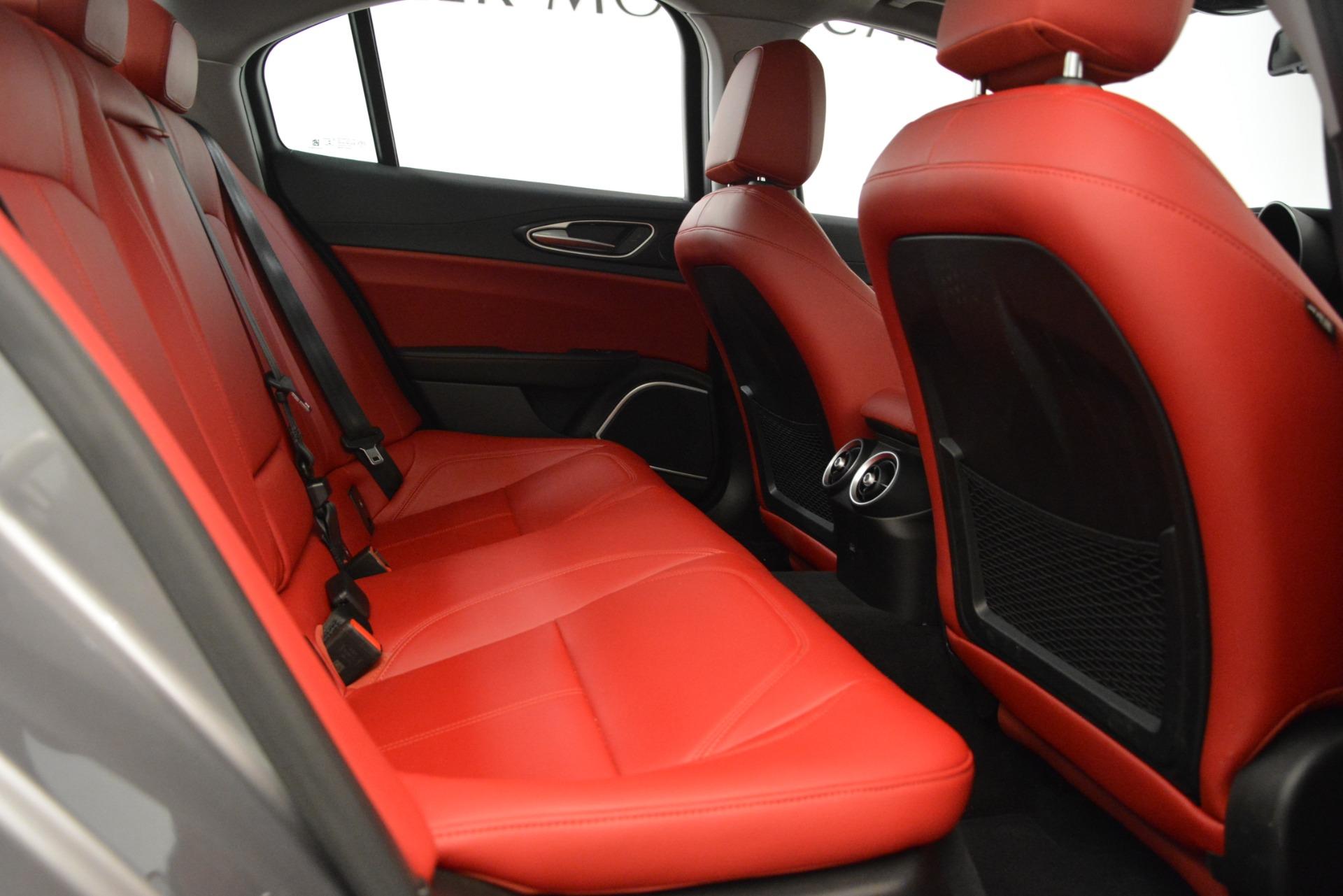 New 2018 Alfa Romeo Giulia Q4 For Sale In Greenwich, CT 1751_p27