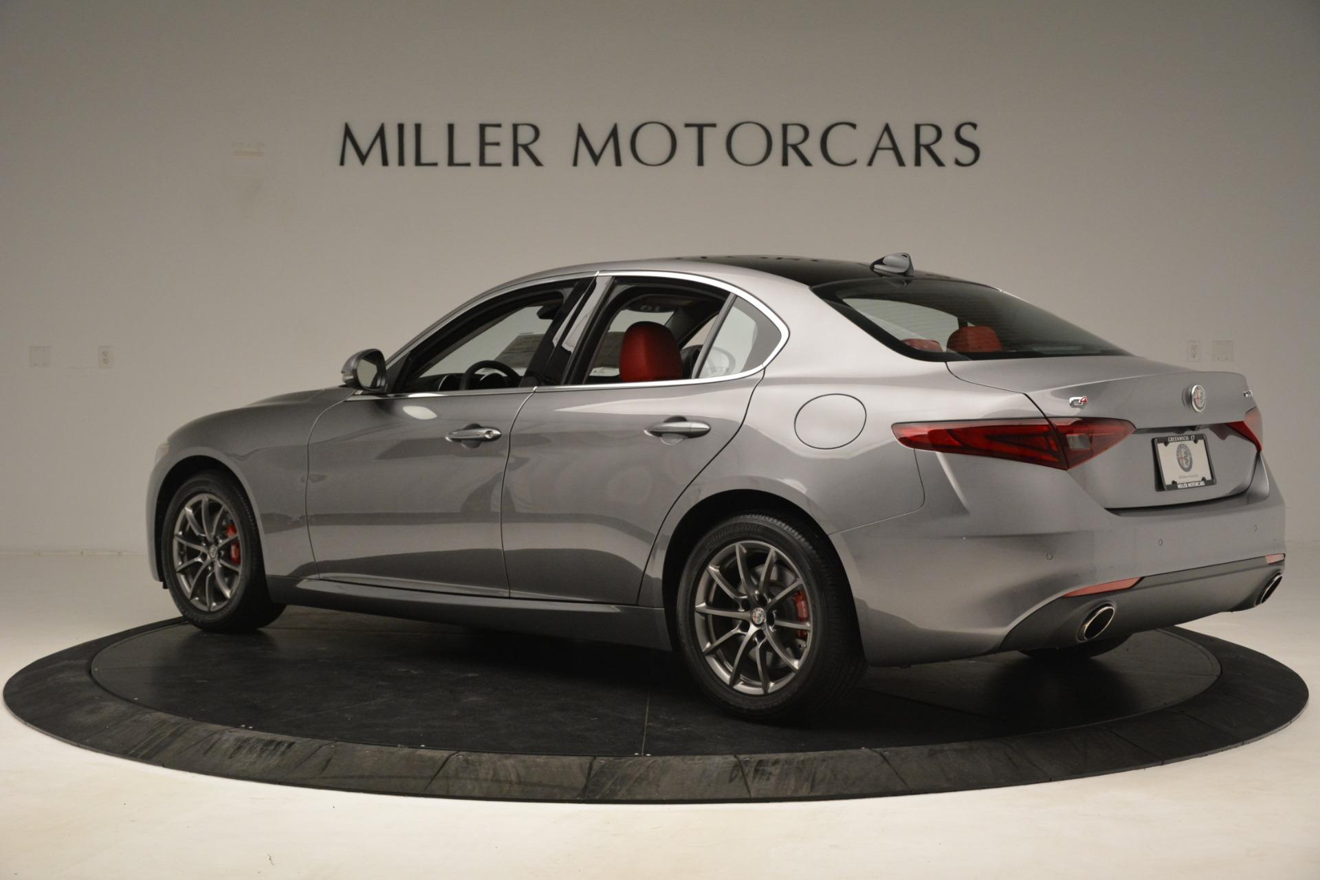 New 2018 Alfa Romeo Giulia Q4 For Sale In Greenwich, CT 1751_p4