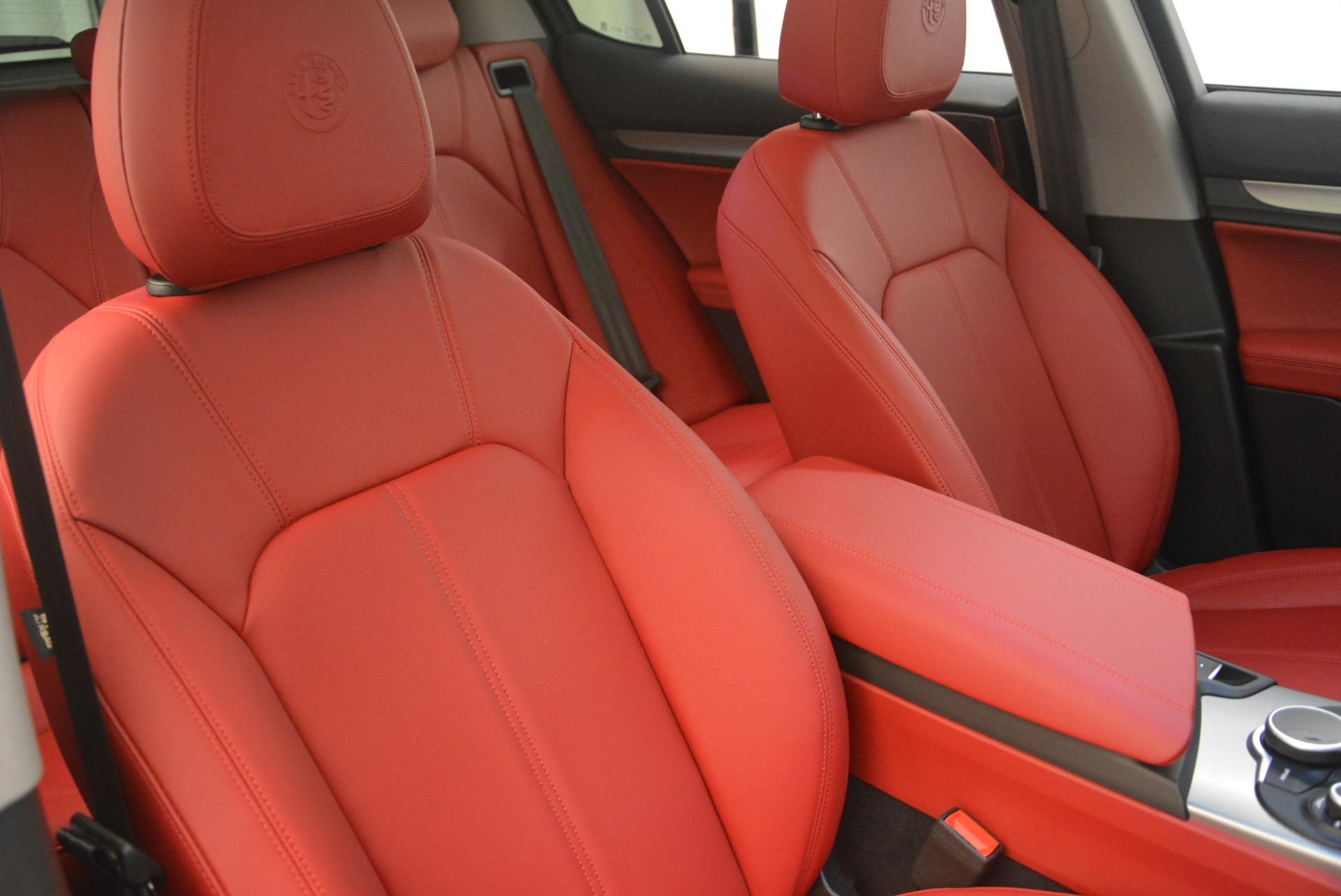 New 2018 Alfa Romeo Stelvio Sport Q4 For Sale In Greenwich, CT 1761_p21