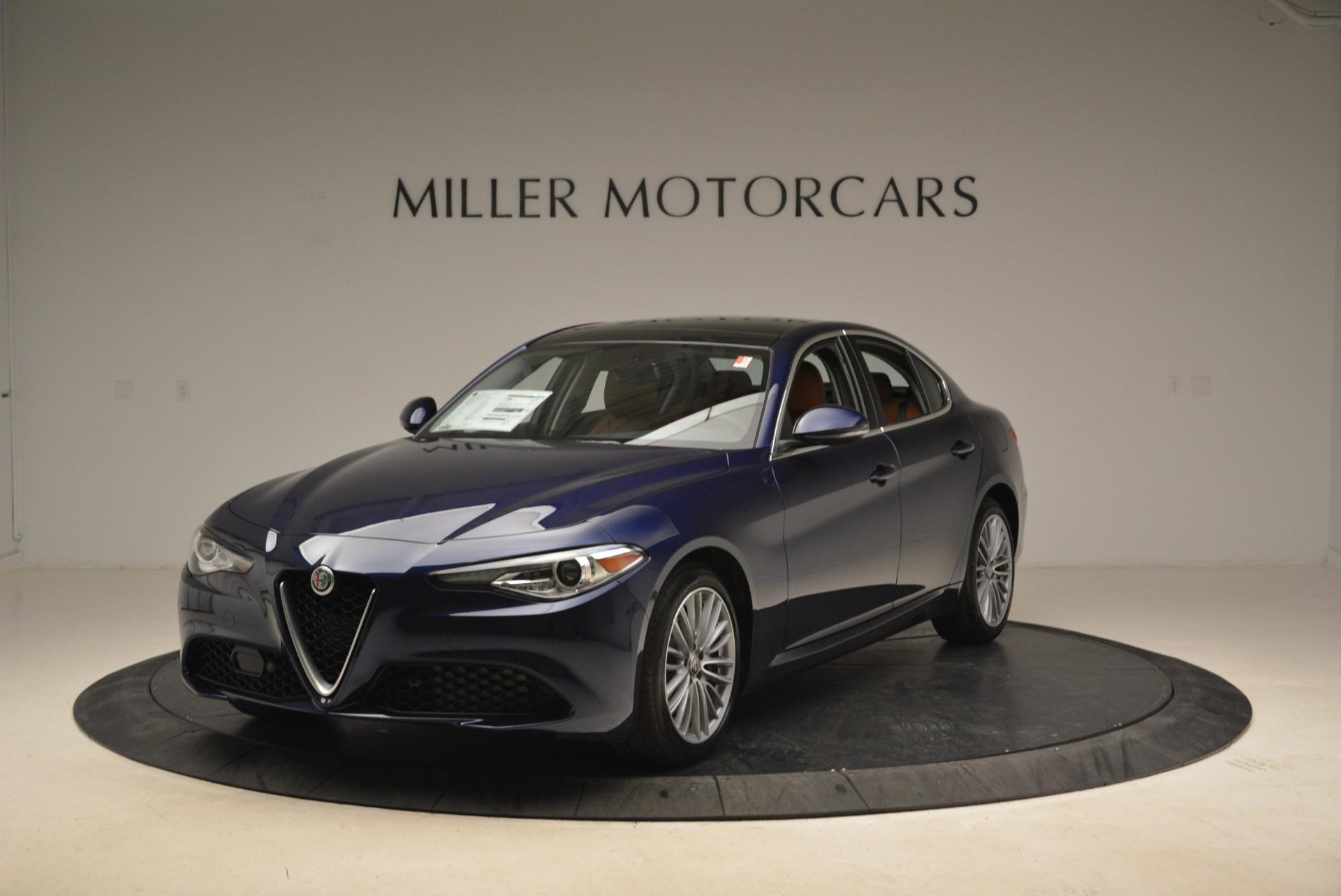 New 2018 Alfa Romeo Giulia Ti Lusso Q4 For Sale In Greenwich, CT 1764_main
