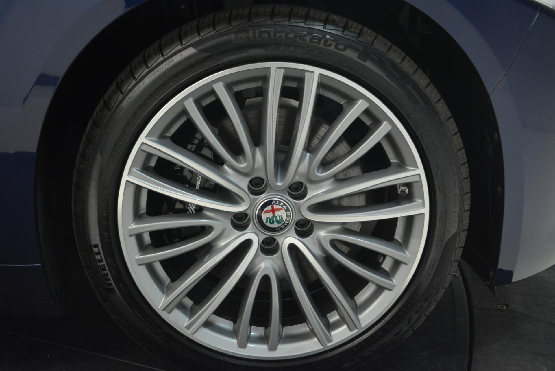 New 2018 Alfa Romeo Giulia Ti Lusso Q4 For Sale In Greenwich, CT 1764_p25