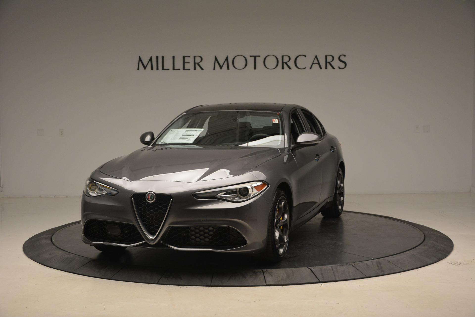New 2018 Alfa Romeo Giulia Ti Sport Q4 For Sale In Greenwich, CT