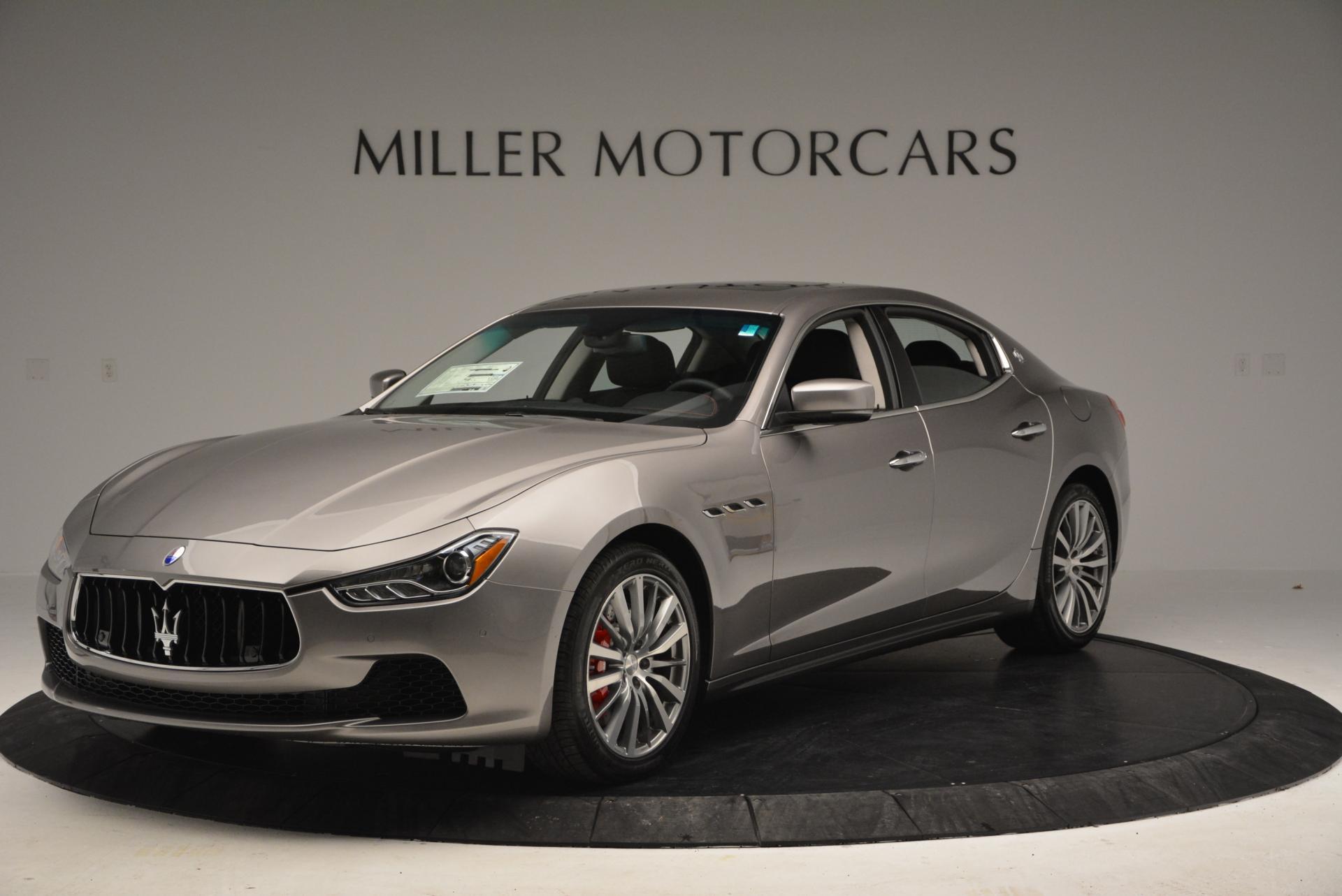 New 2016 Maserati Ghibli S Q4 For Sale In Greenwich, CT 177_main