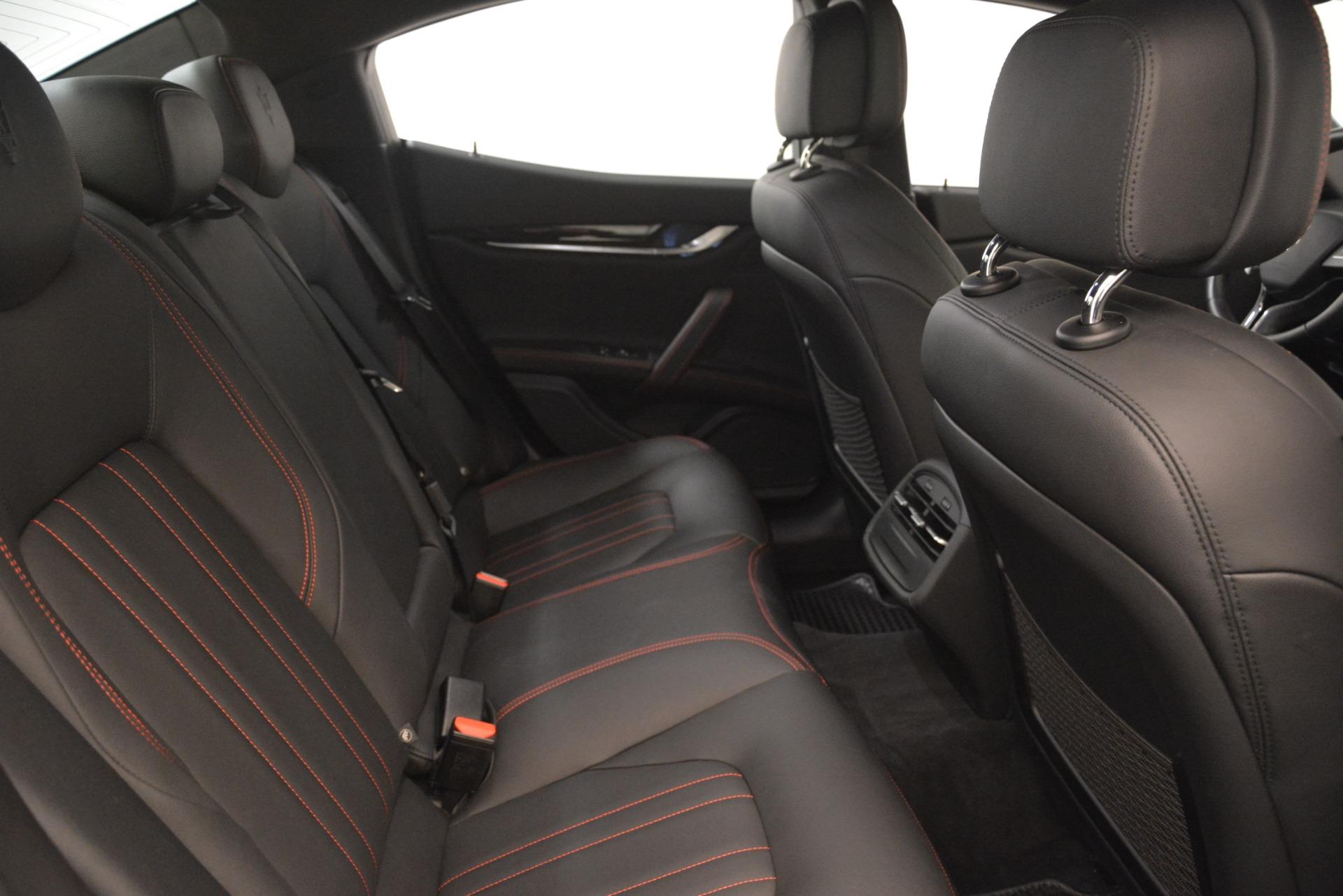 Used 2018 Maserati Ghibli S Q4 For Sale In Greenwich, CT 1772_p23