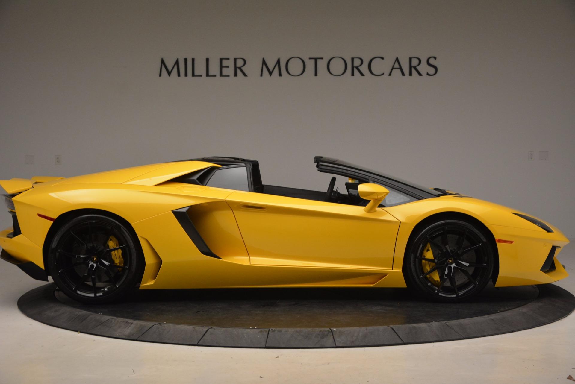 Used 2015 Lamborghini Aventador LP 700-4 Roadster For Sale In Greenwich, CT 1774_p10