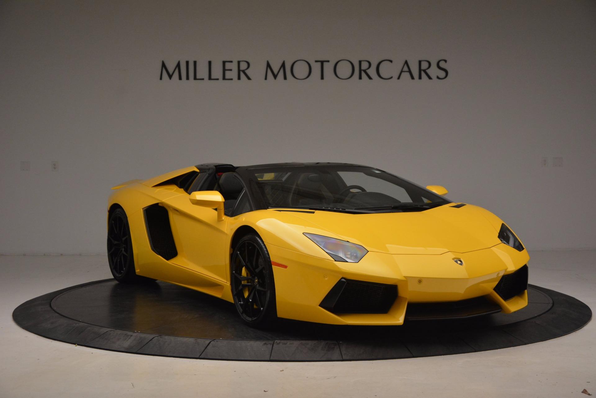 Used 2015 Lamborghini Aventador LP 700-4 Roadster For Sale In Greenwich, CT 1774_p12