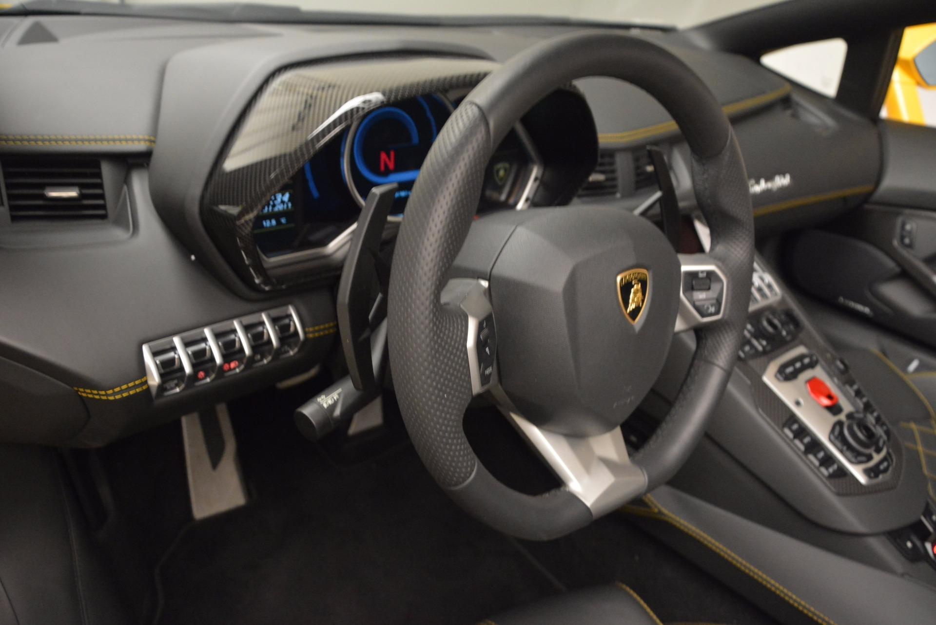 Used 2015 Lamborghini Aventador LP 700-4 Roadster For Sale In Greenwich, CT 1774_p18