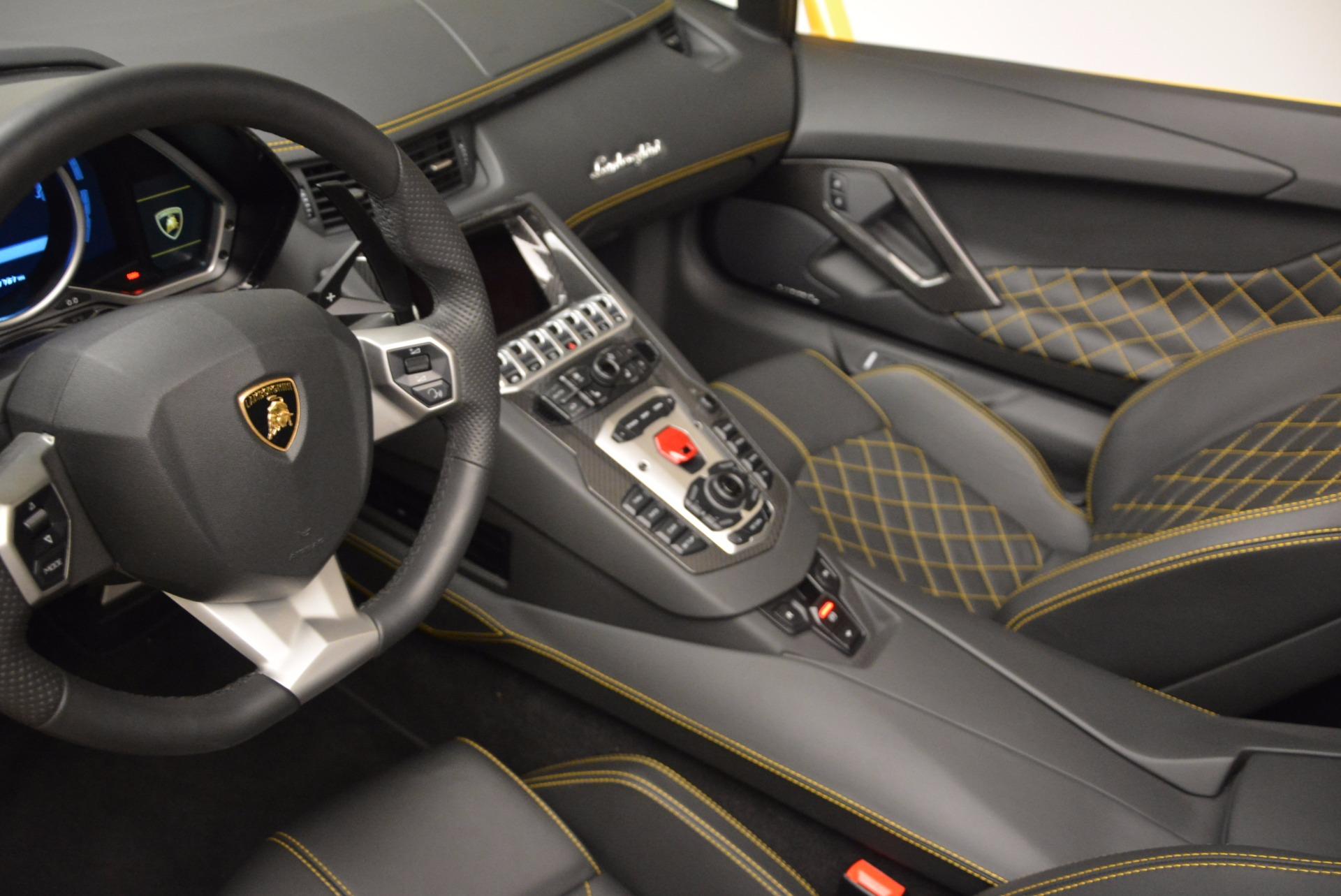 Used 2015 Lamborghini Aventador LP 700-4 Roadster For Sale In Greenwich, CT 1774_p19