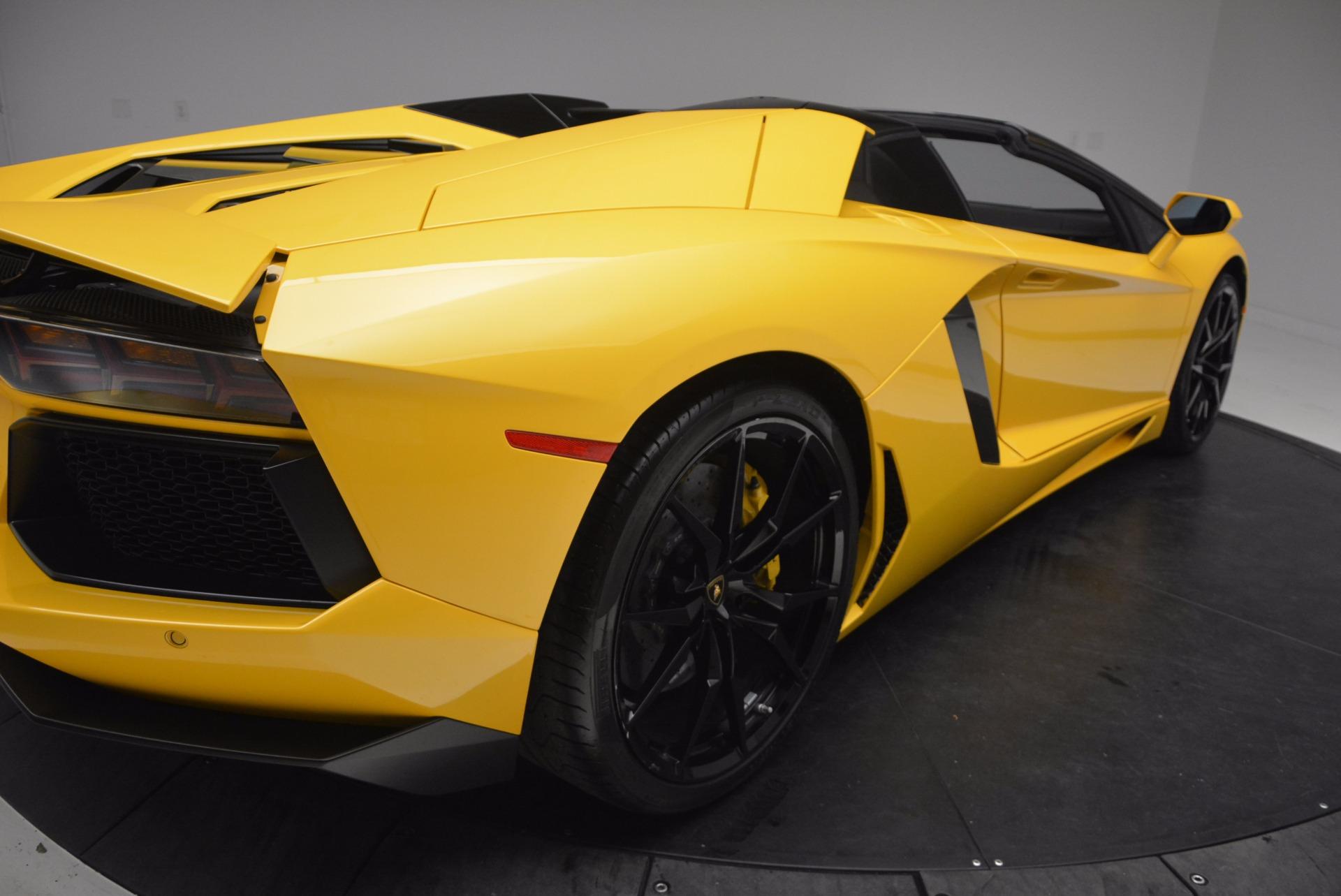 Used 2015 Lamborghini Aventador LP 700-4 Roadster For Sale In Greenwich, CT 1774_p20