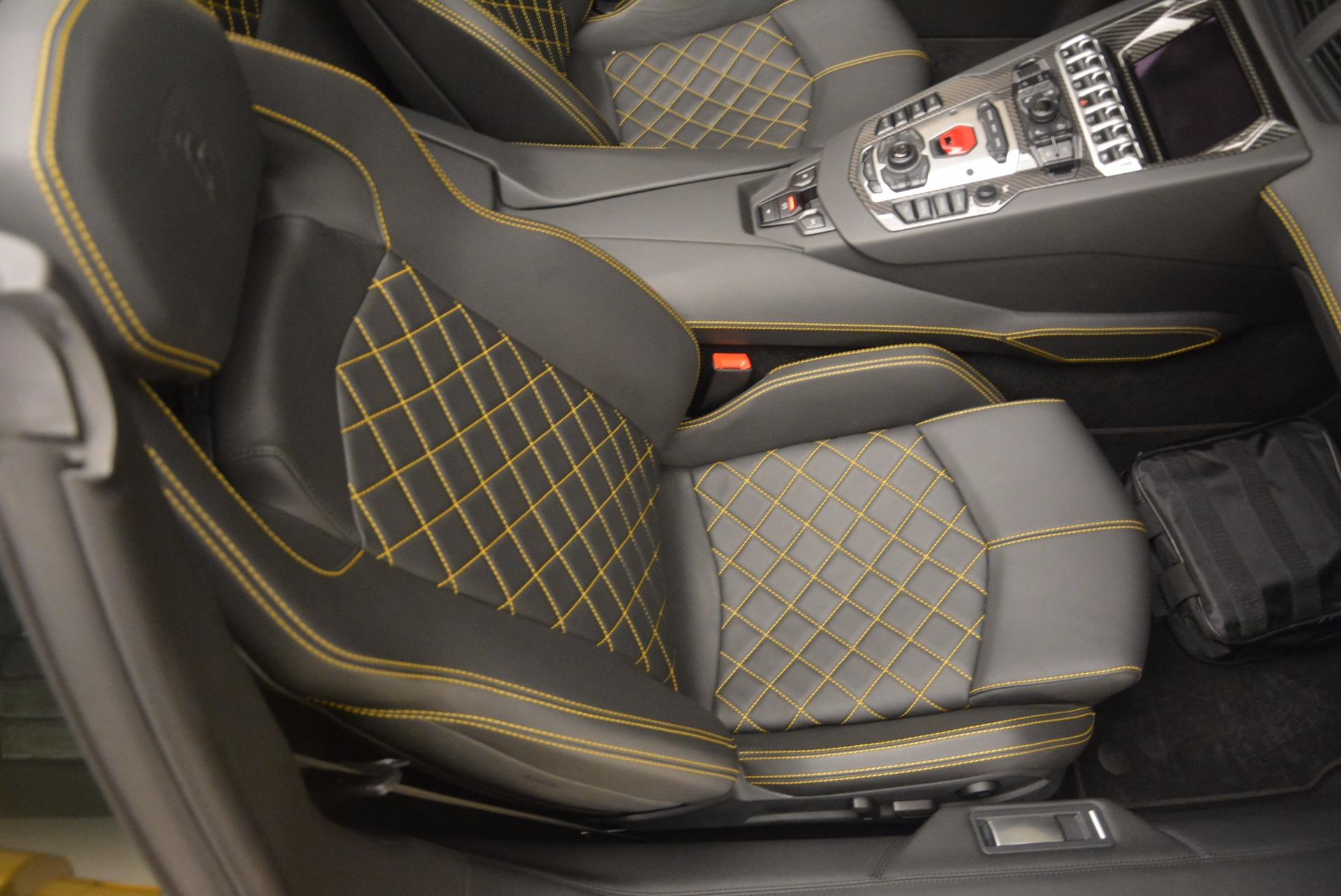 Used 2015 Lamborghini Aventador LP 700-4 Roadster For Sale In Greenwich, CT 1774_p25
