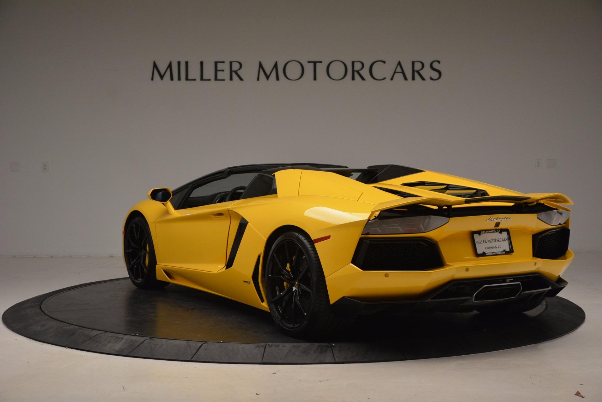 Used 2015 Lamborghini Aventador LP 700-4 Roadster For Sale In Greenwich, CT 1774_p5