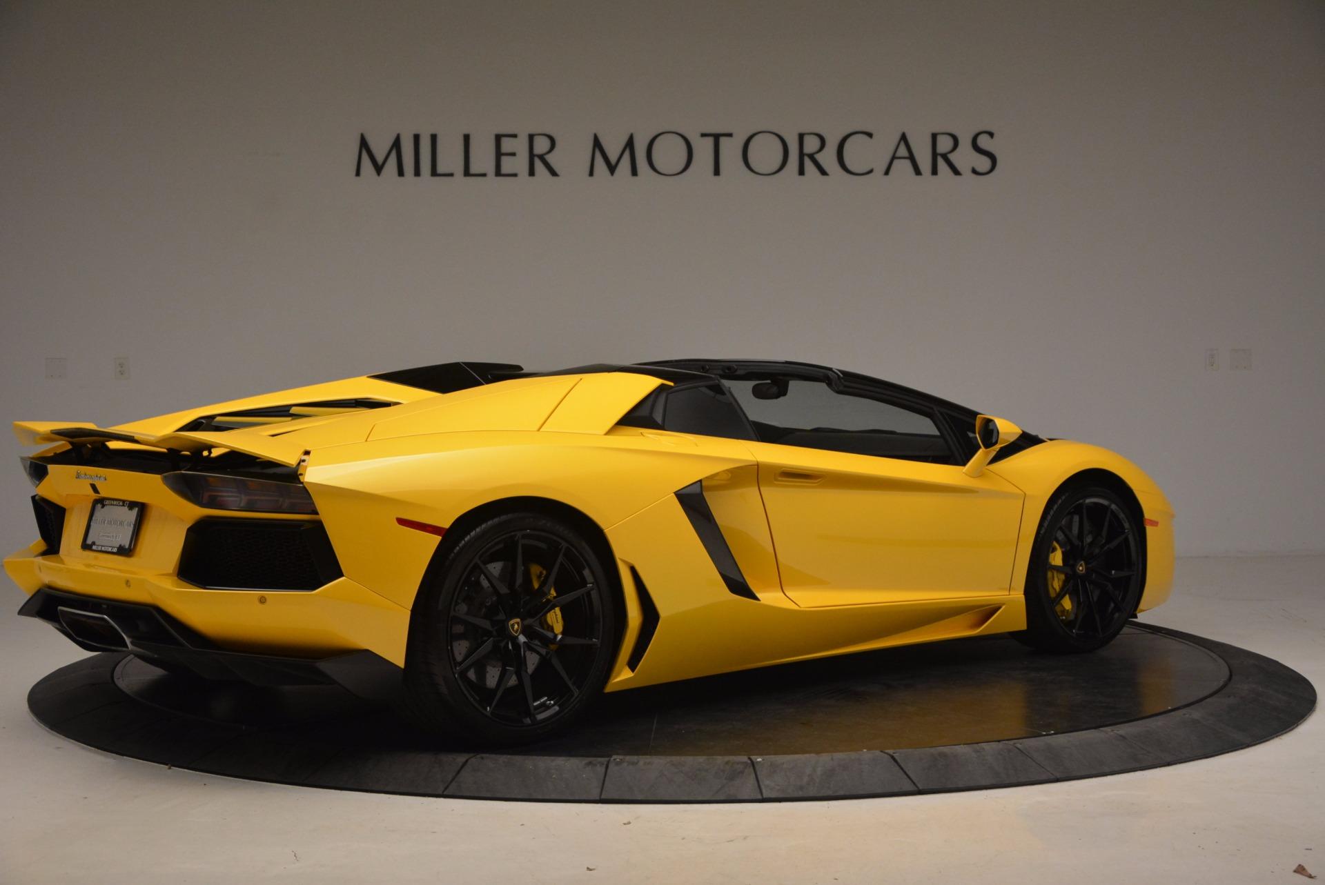 Used 2015 Lamborghini Aventador LP 700-4 Roadster For Sale In Greenwich, CT 1774_p9