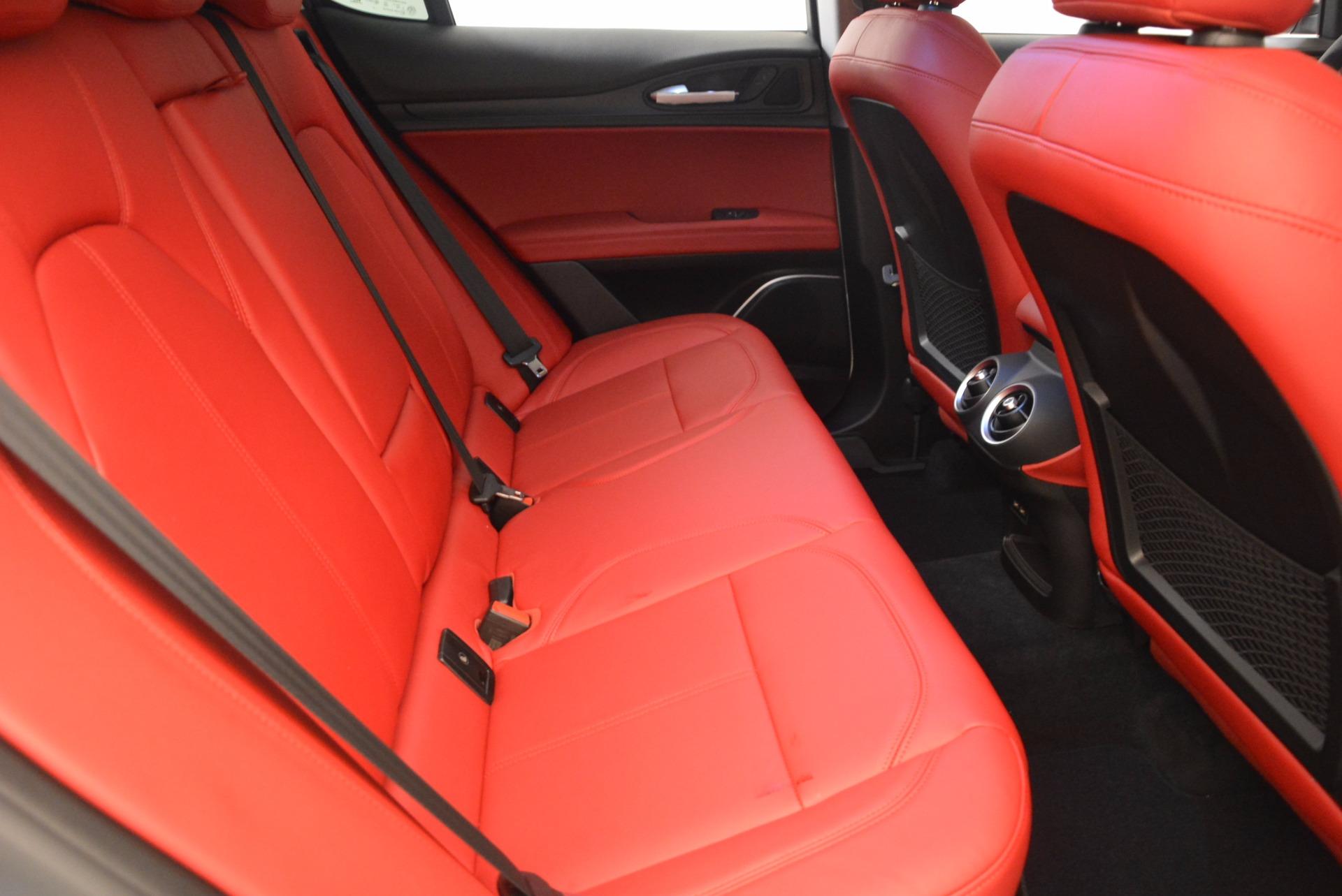New 2018 Alfa Romeo Stelvio Ti Sport Q4 For Sale In Greenwich, CT 1777_p23