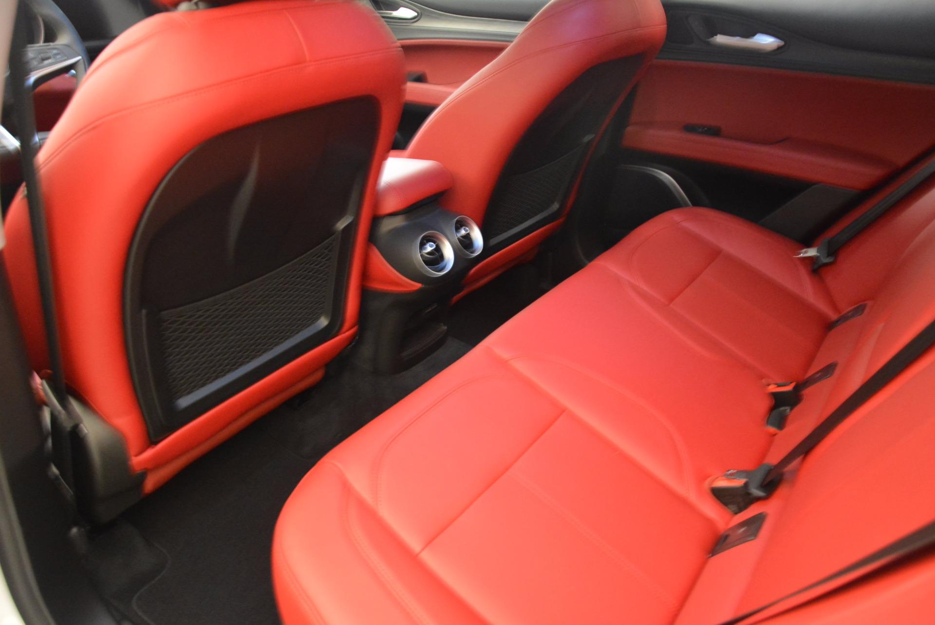 New 2018 Alfa Romeo Stelvio Ti Q4 For Sale In Greenwich, CT 1779_p19