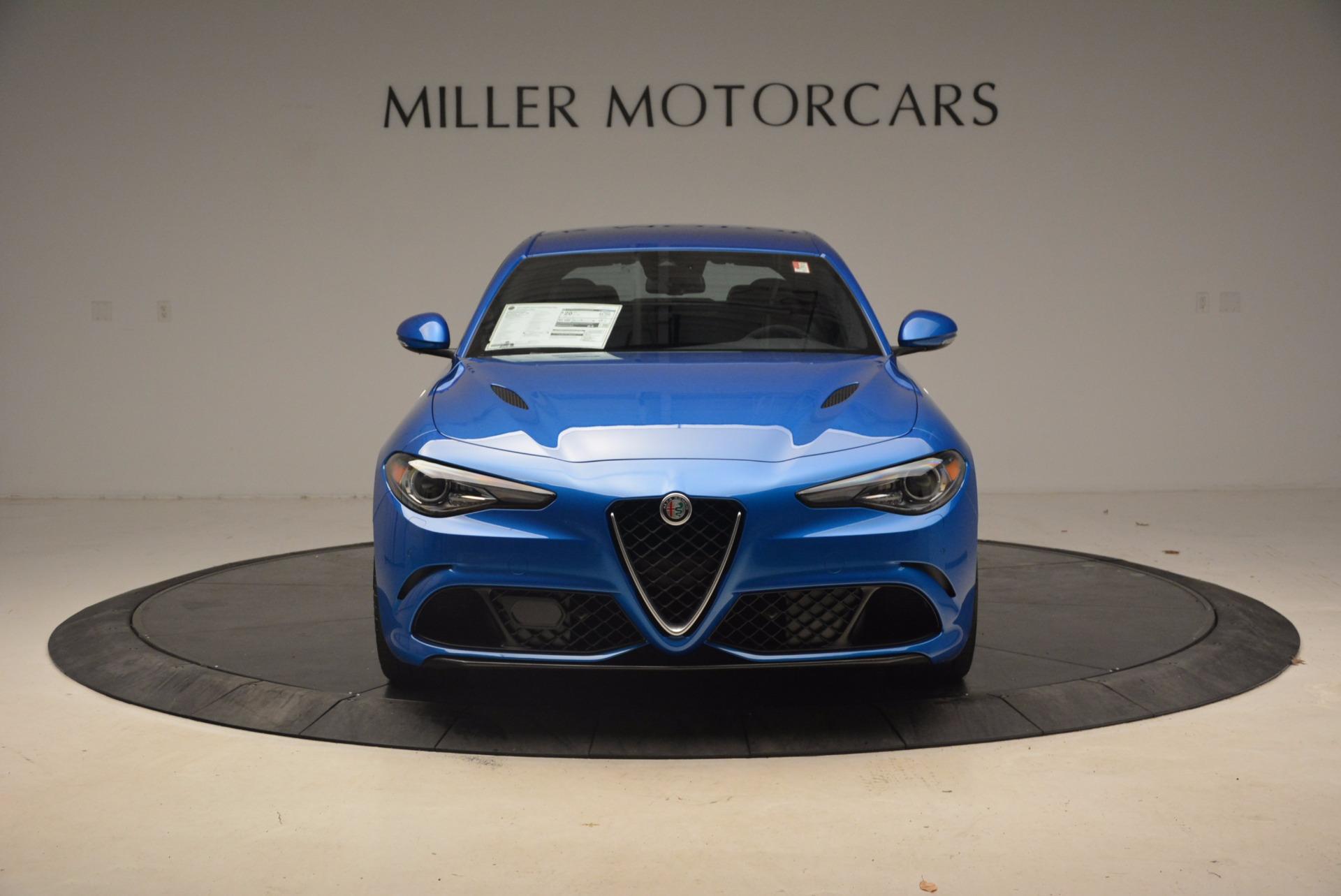 New 2018 Alfa Romeo Giulia Quadrifoglio For Sale In Greenwich, CT 1782_p12