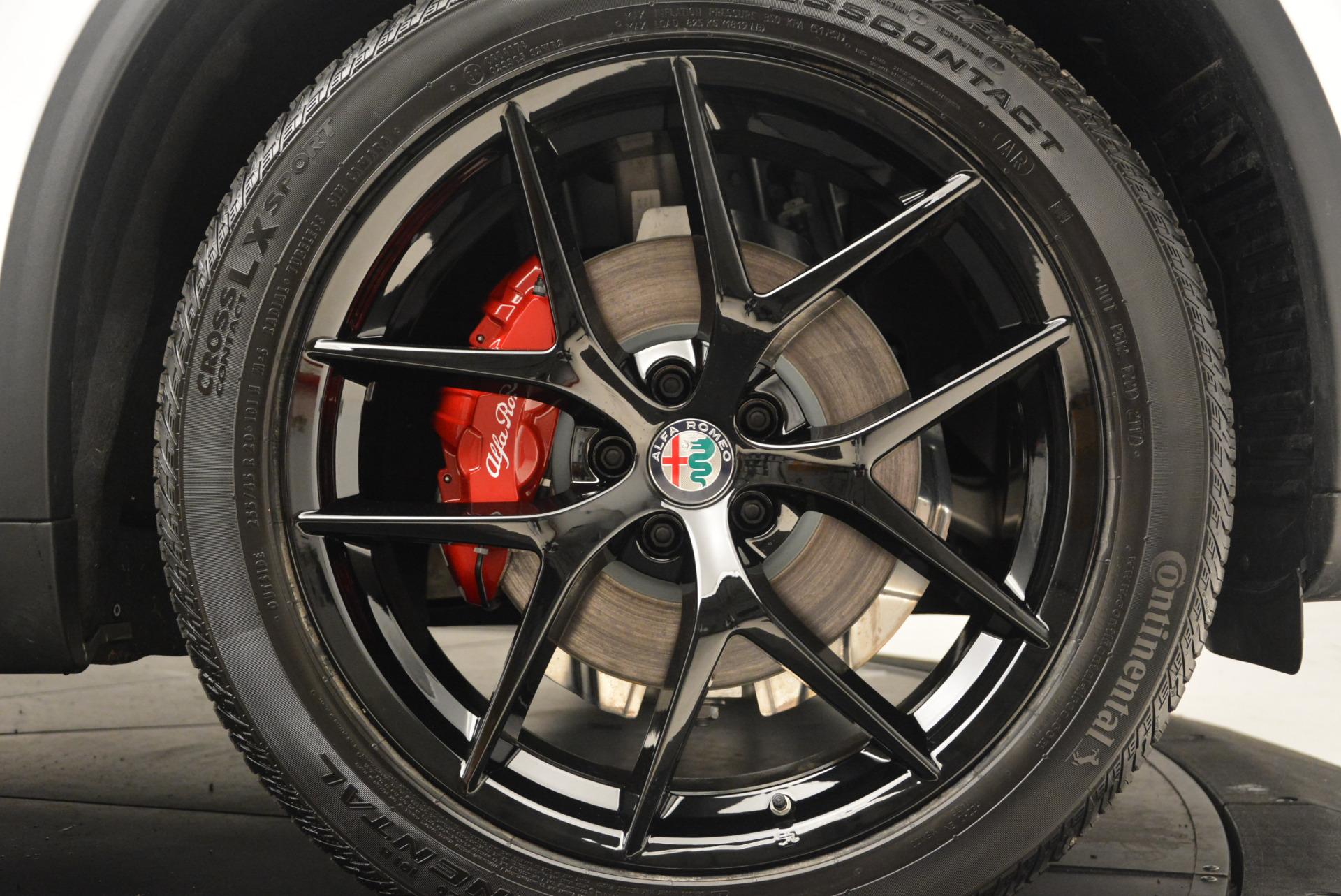 New 2018 Alfa Romeo Stelvio Ti Sport Q4 For Sale In Greenwich, CT 1783_p25