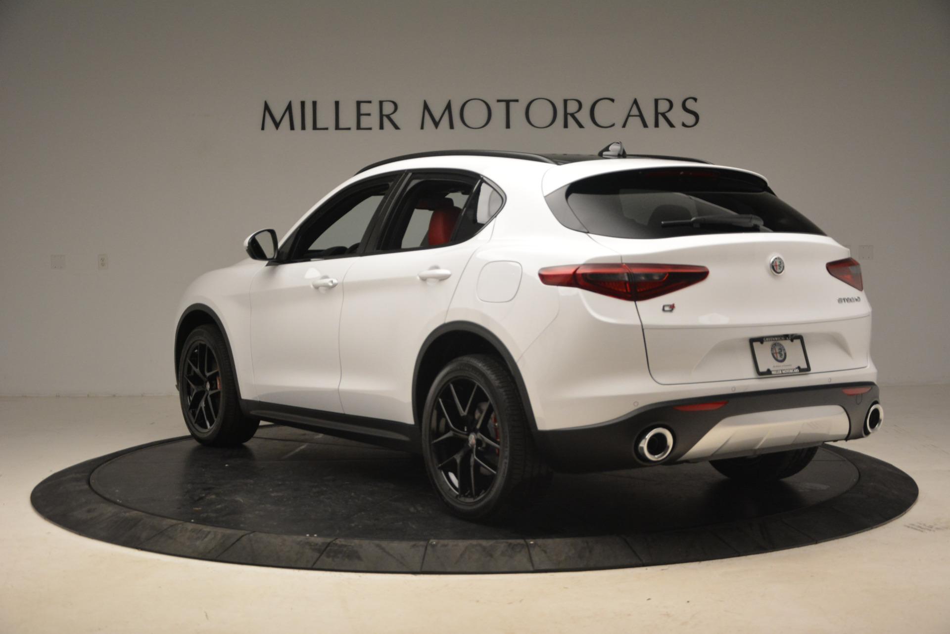 New 2018 Alfa Romeo Stelvio Ti Sport Q4 For Sale In Greenwich, CT 1783_p5