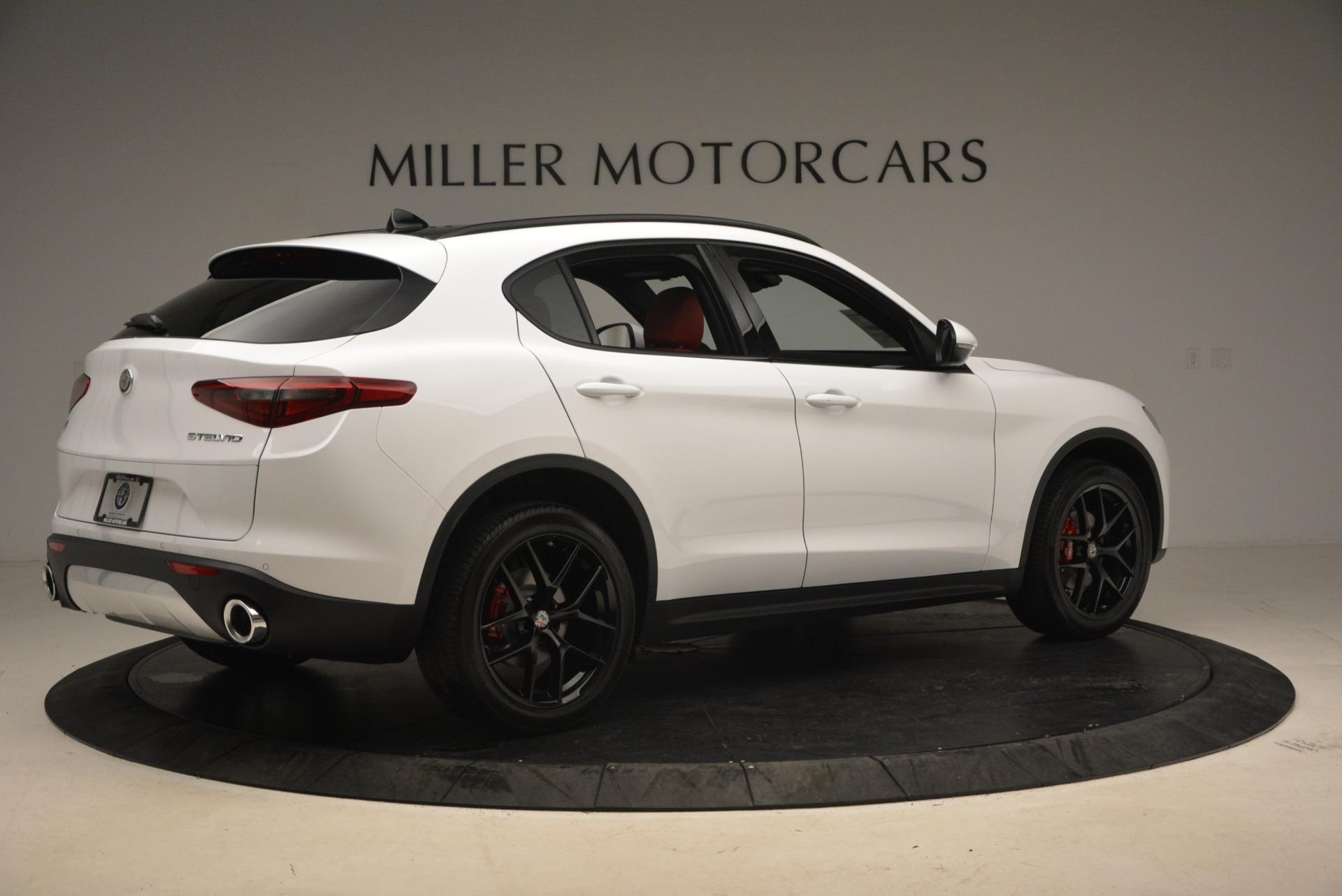 New 2018 Alfa Romeo Stelvio Ti Sport Q4 For Sale In Greenwich, CT 1783_p8