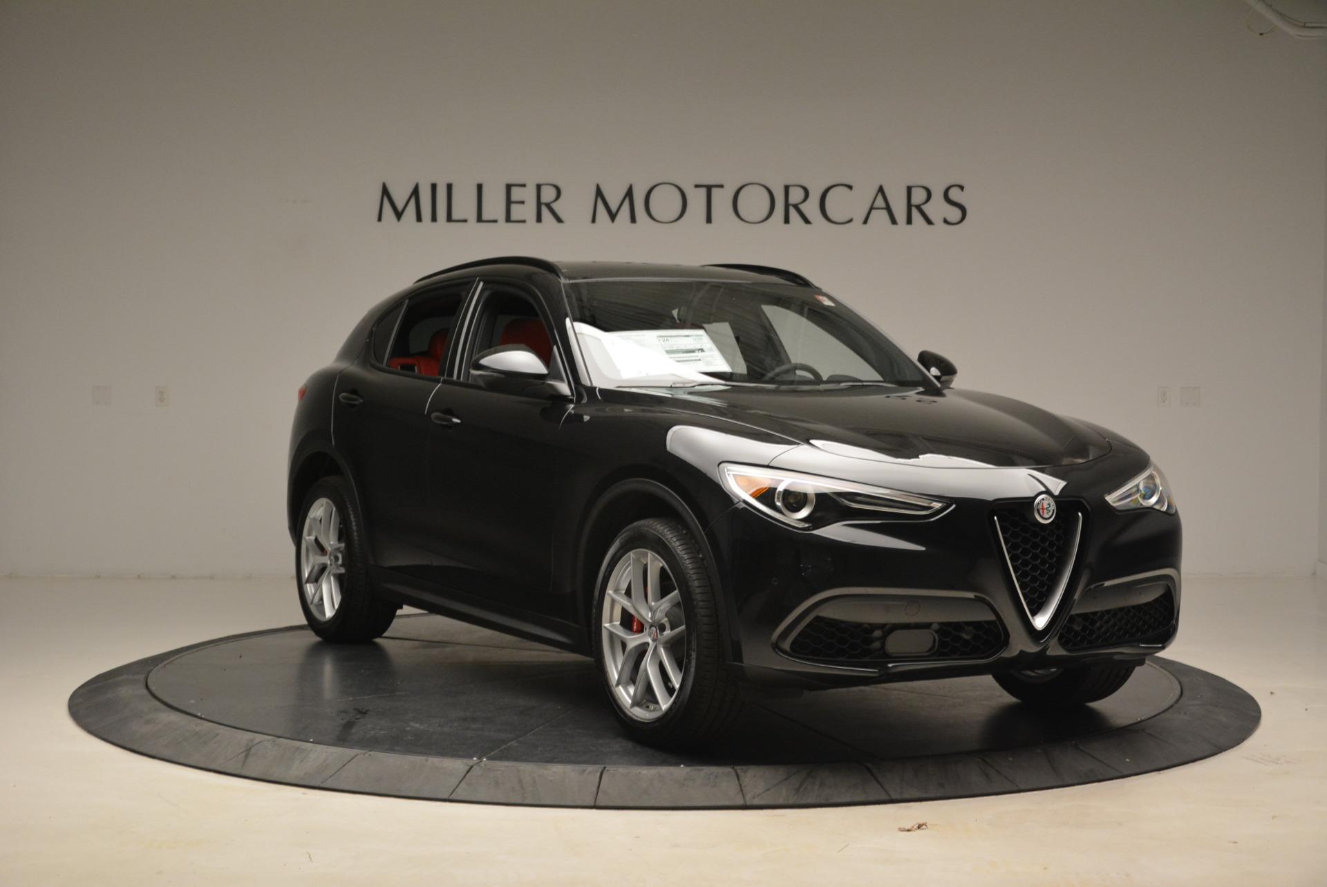 New 2018 Alfa Romeo Stelvio Ti Sport Q4 For Sale In Greenwich, CT 1789_p11