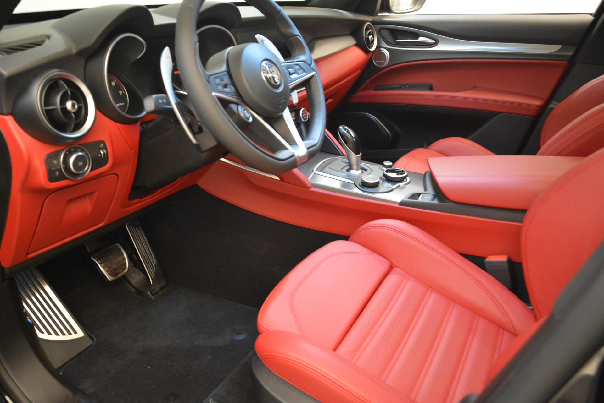 New 2018 Alfa Romeo Stelvio Ti Sport Q4 For Sale In Greenwich, CT 1789_p13