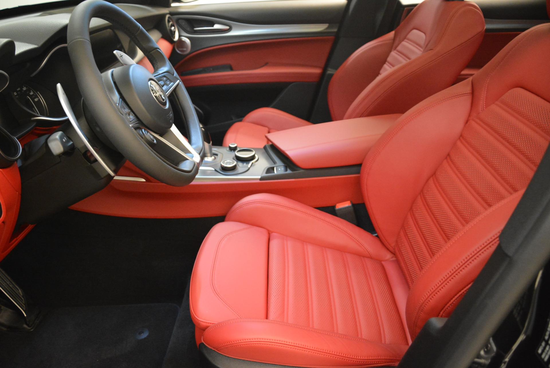 New 2018 Alfa Romeo Stelvio Ti Sport Q4 For Sale In Greenwich, CT 1789_p14