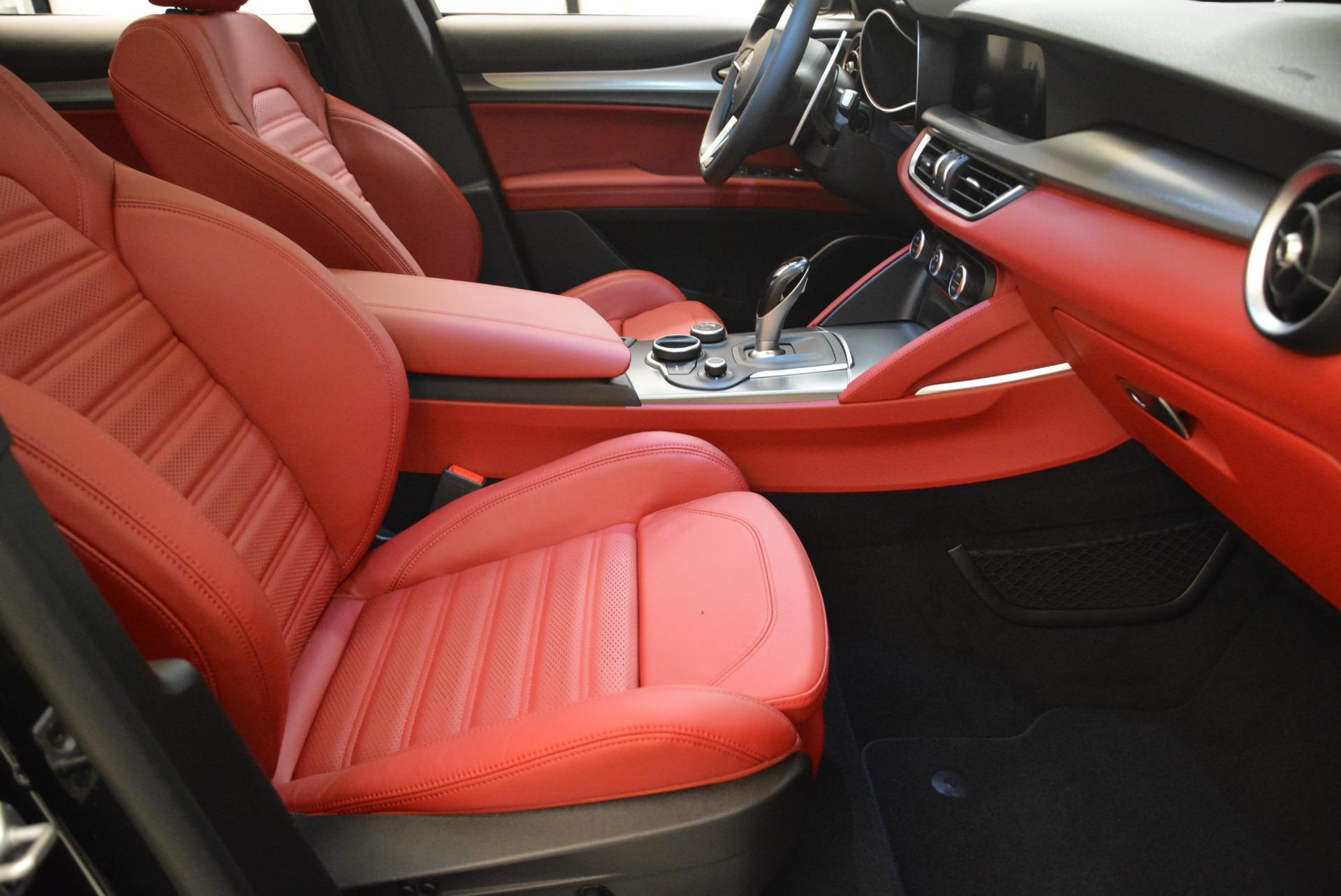 New 2018 Alfa Romeo Stelvio Ti Sport Q4 For Sale In Greenwich, CT 1789_p20