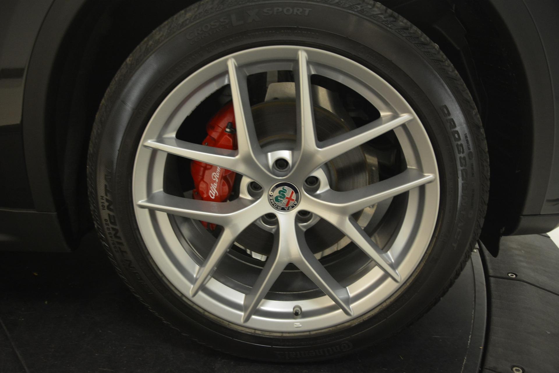 New 2018 Alfa Romeo Stelvio Ti Sport Q4 For Sale In Greenwich, CT 1789_p25