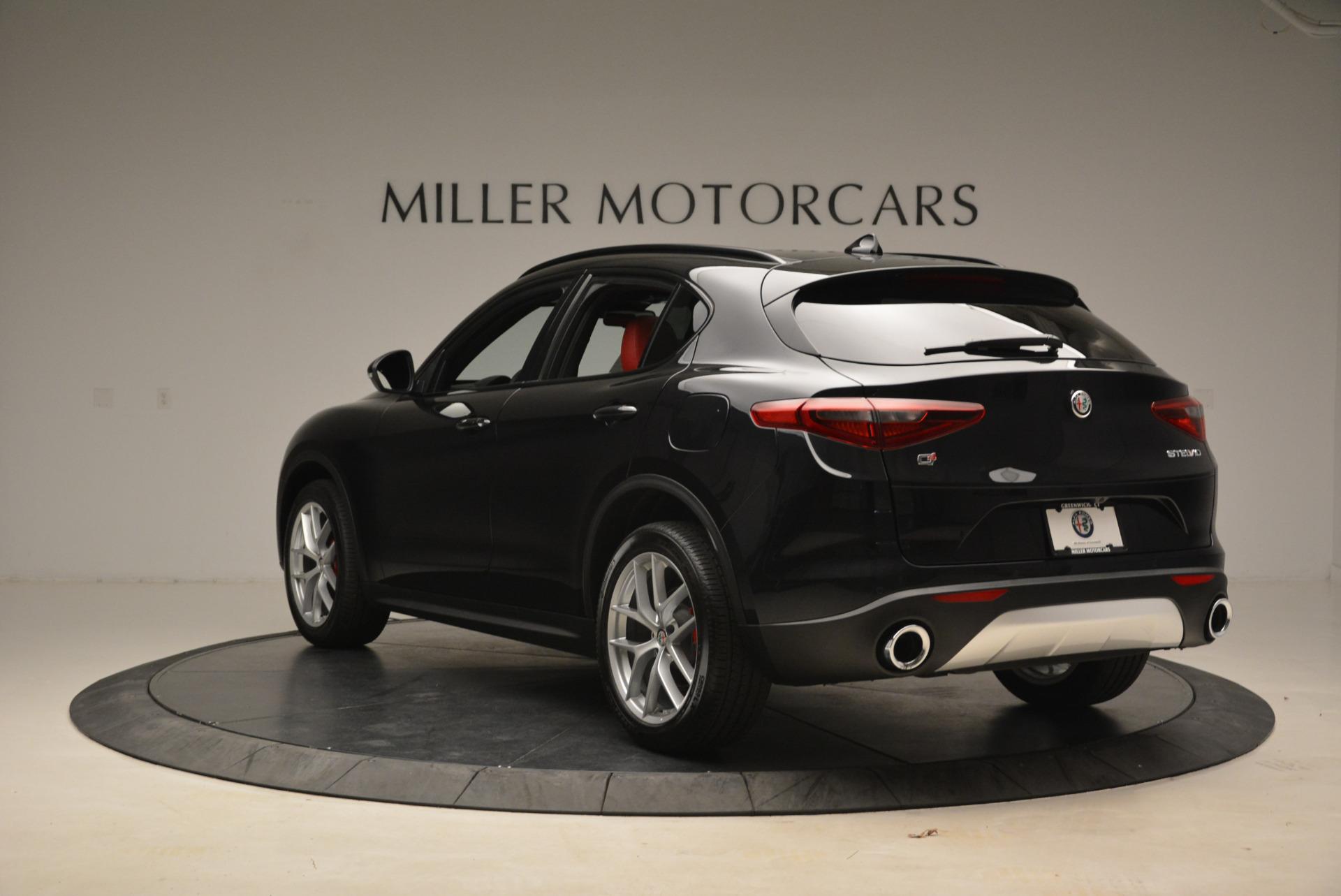 New 2018 Alfa Romeo Stelvio Ti Sport Q4 For Sale In Greenwich, CT 1789_p5
